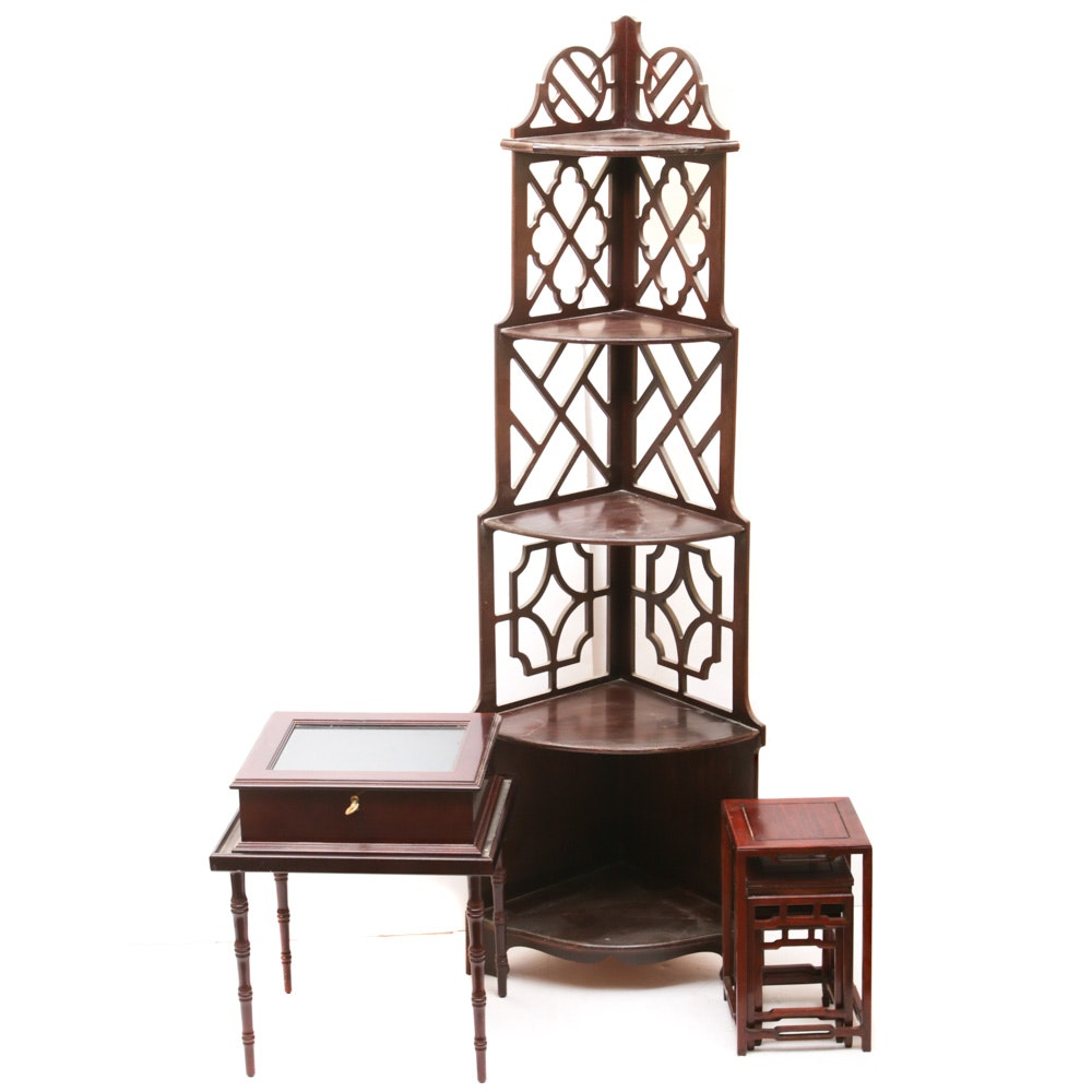 Chinese Style Accent Wooden Furniture