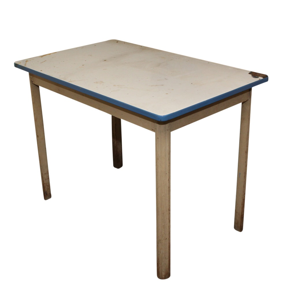 Table and Step Stool Chair