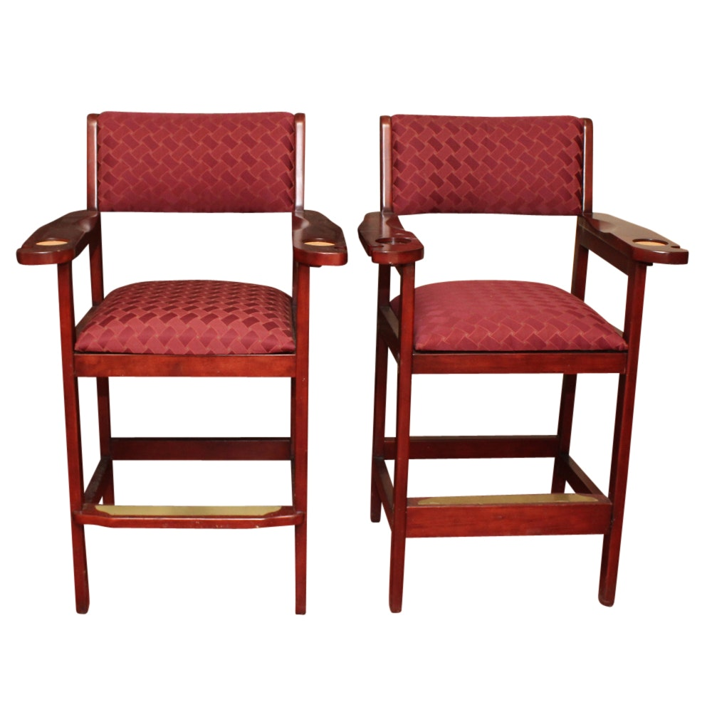 Pair of Upholstered Barstools