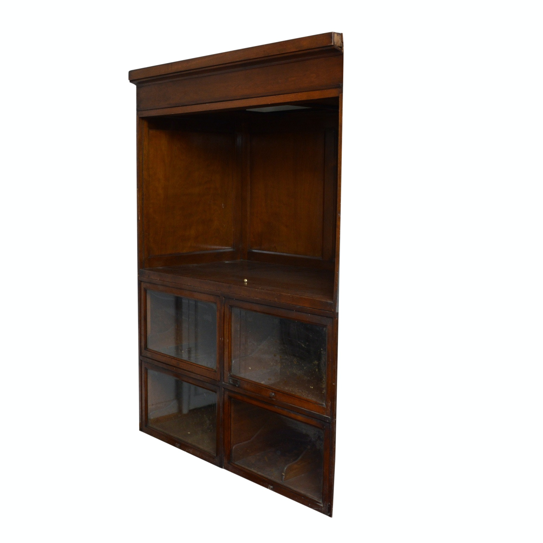 Early Arrow Shirt Display Cabinet
