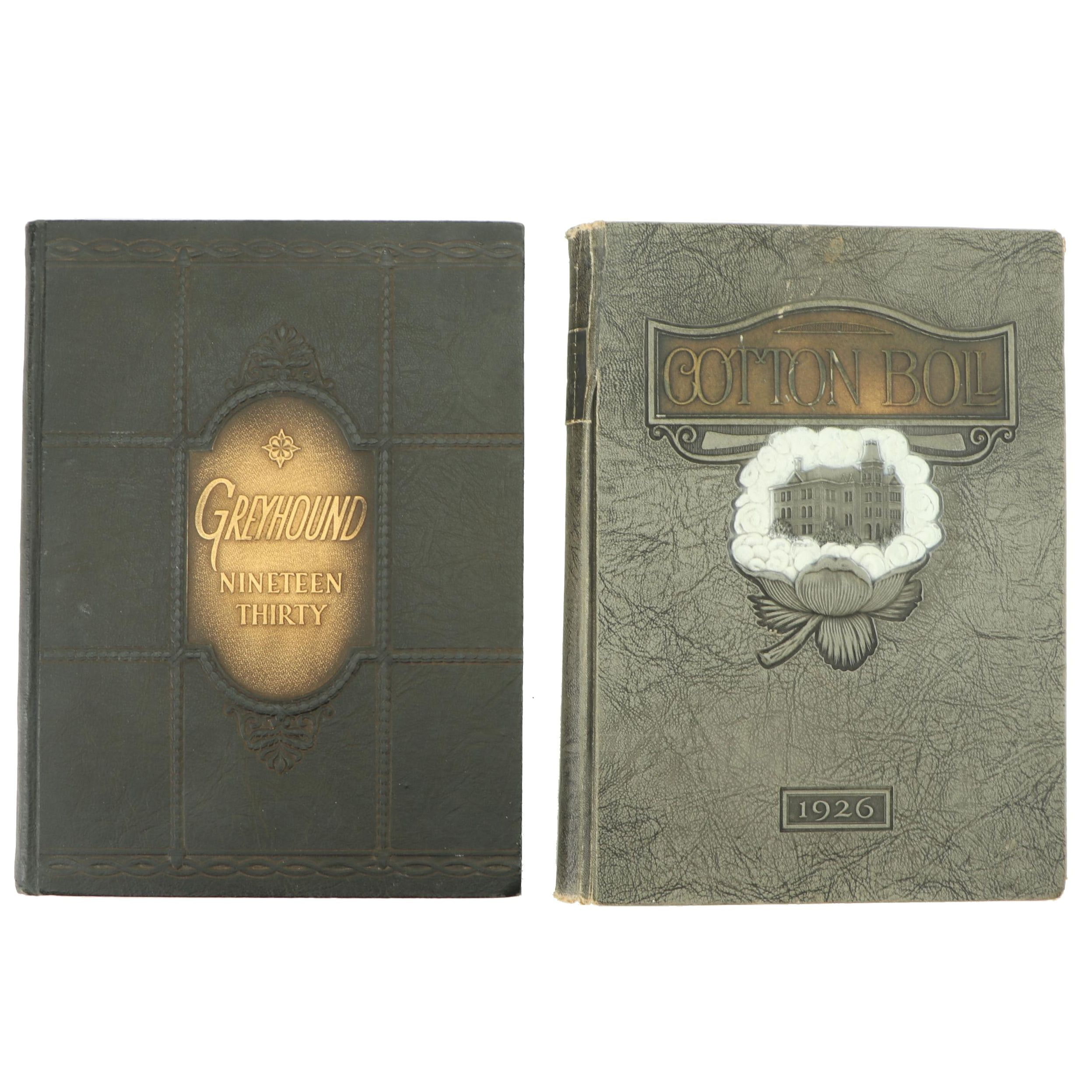 Burleson and Wesley College Yearbooks, Early 20th Century