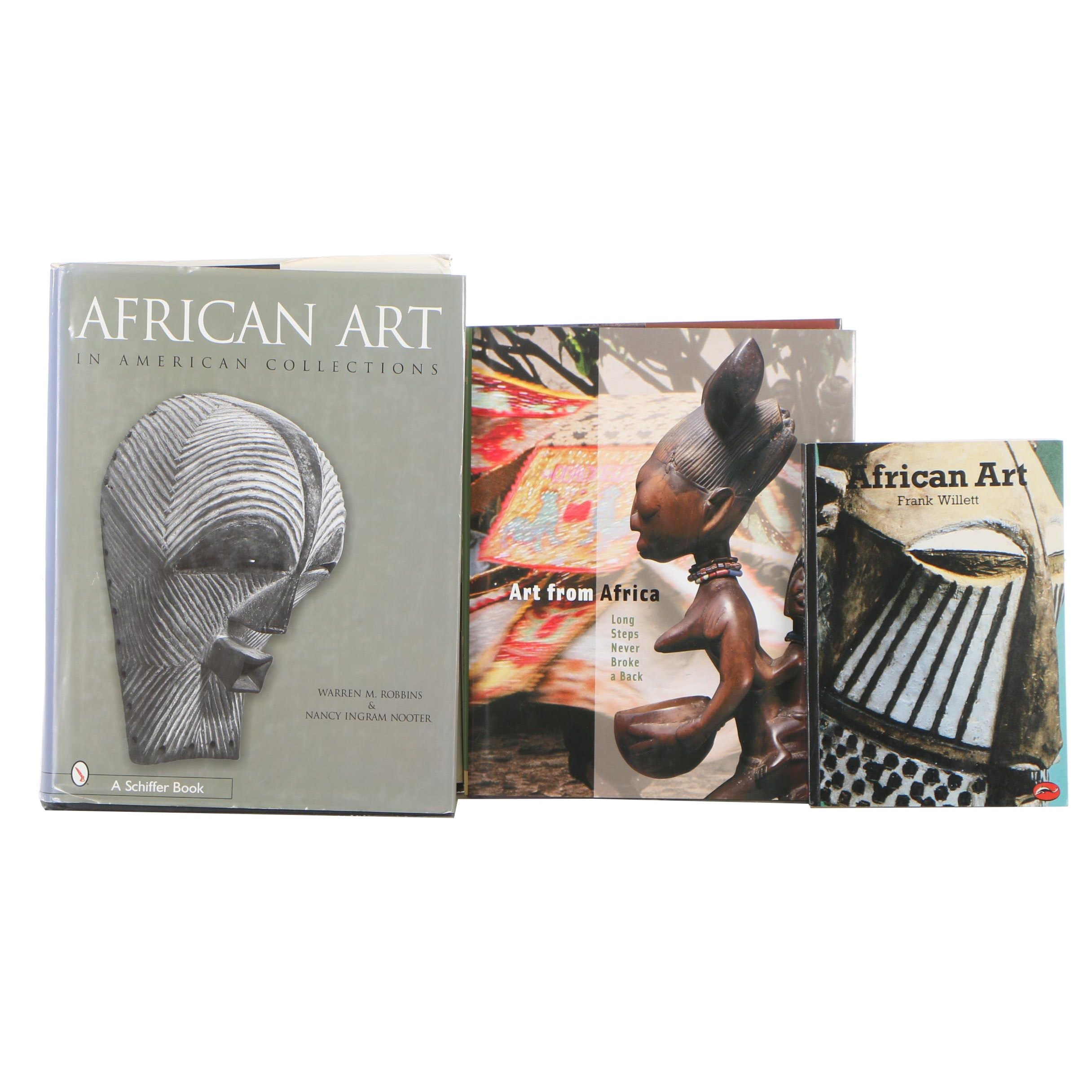 "Three African Art Books, Including ""African Art in American Collections"""
