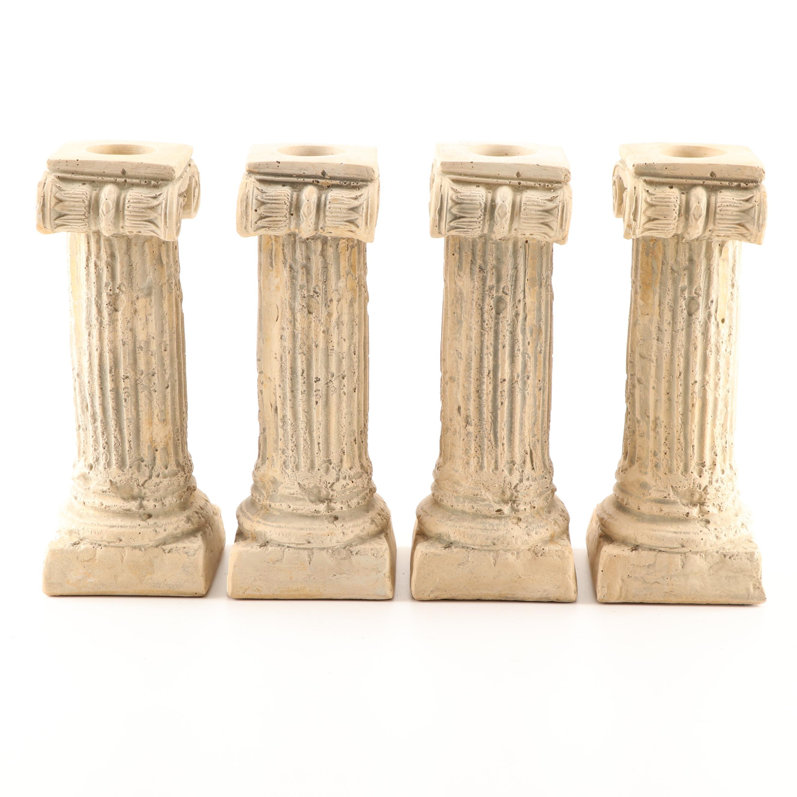 Roman Column Candle Holders by House Parts Inc