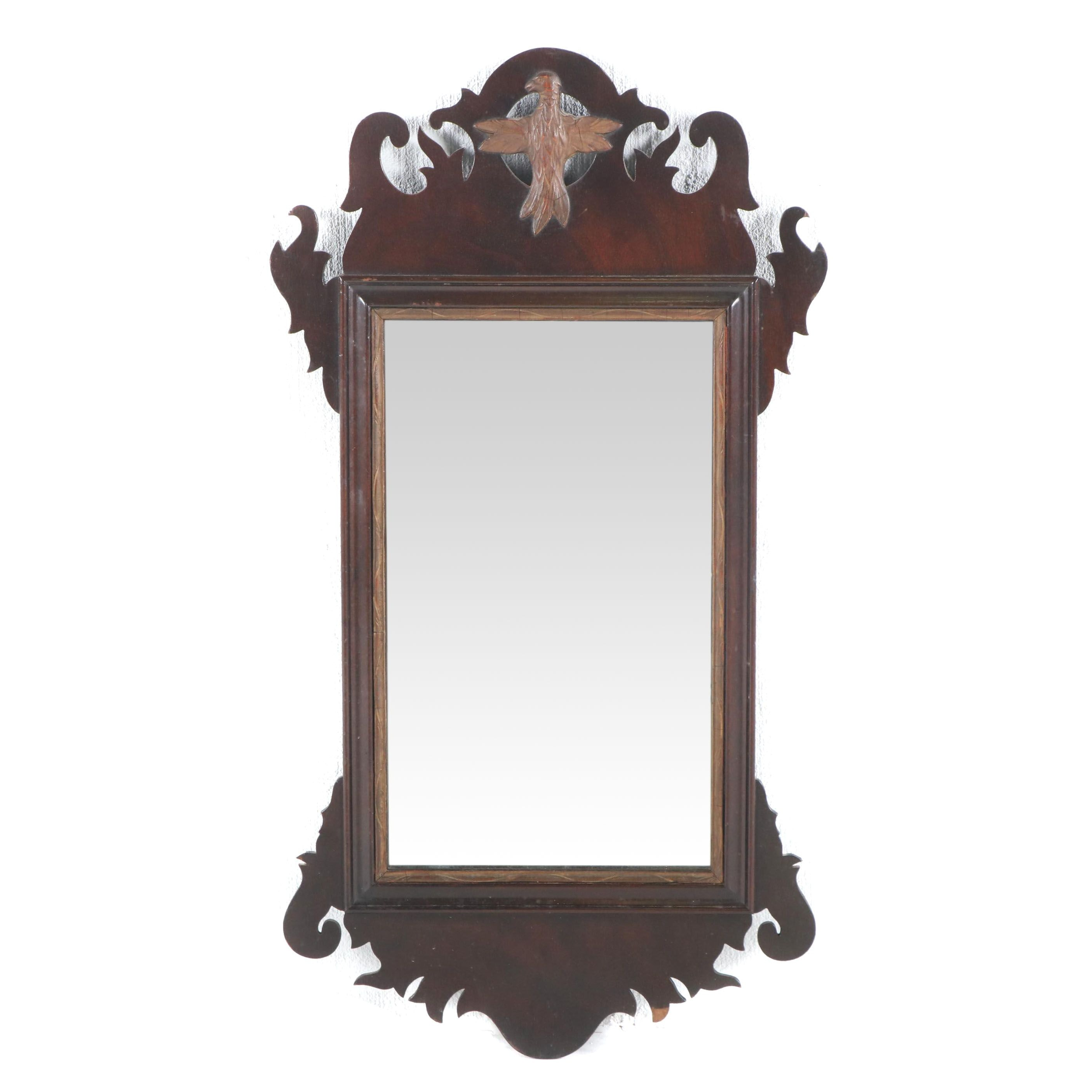 Federal Style Wall Mirror, circa 1940s