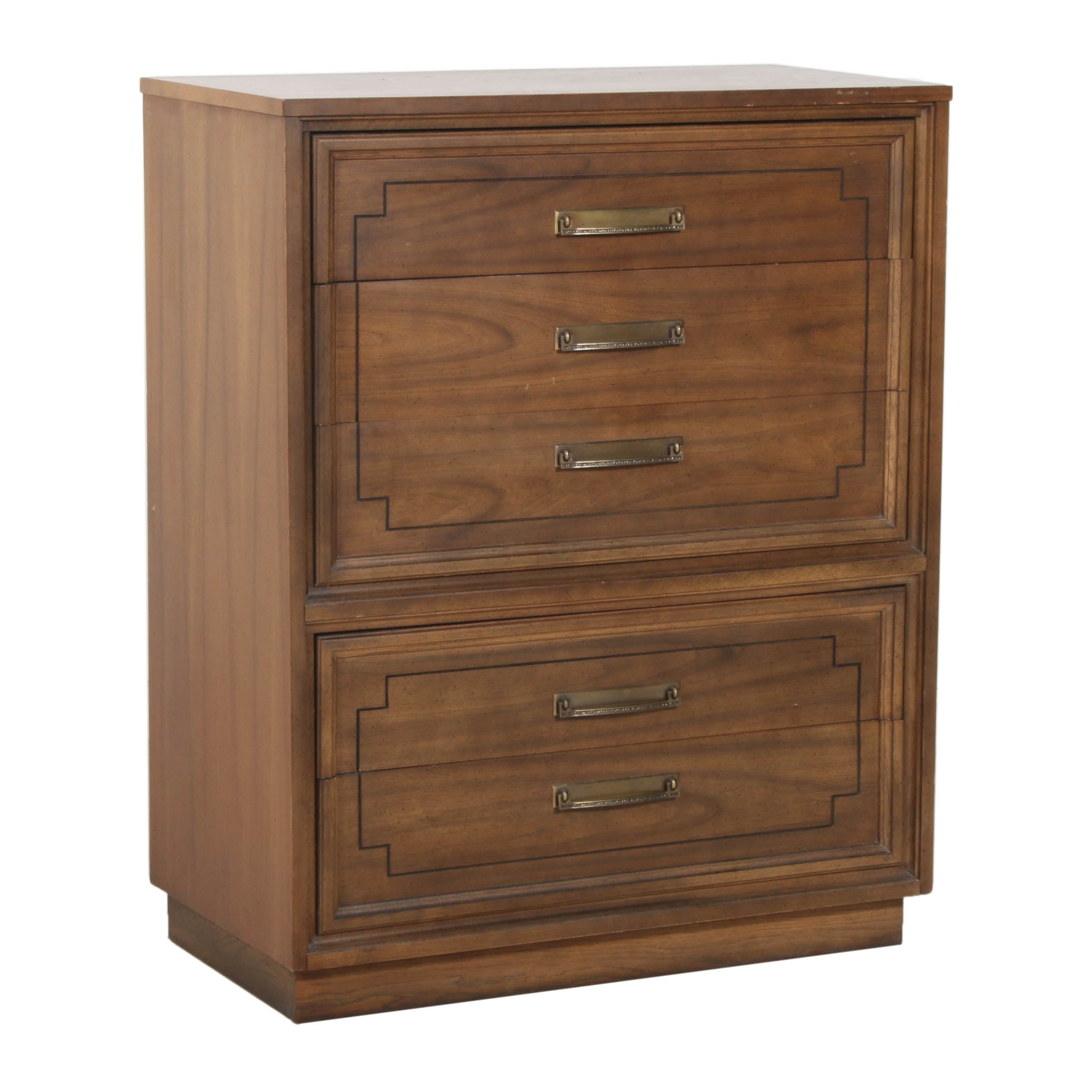 Dixie Furniture Chest of Drawers, Late 20th Century