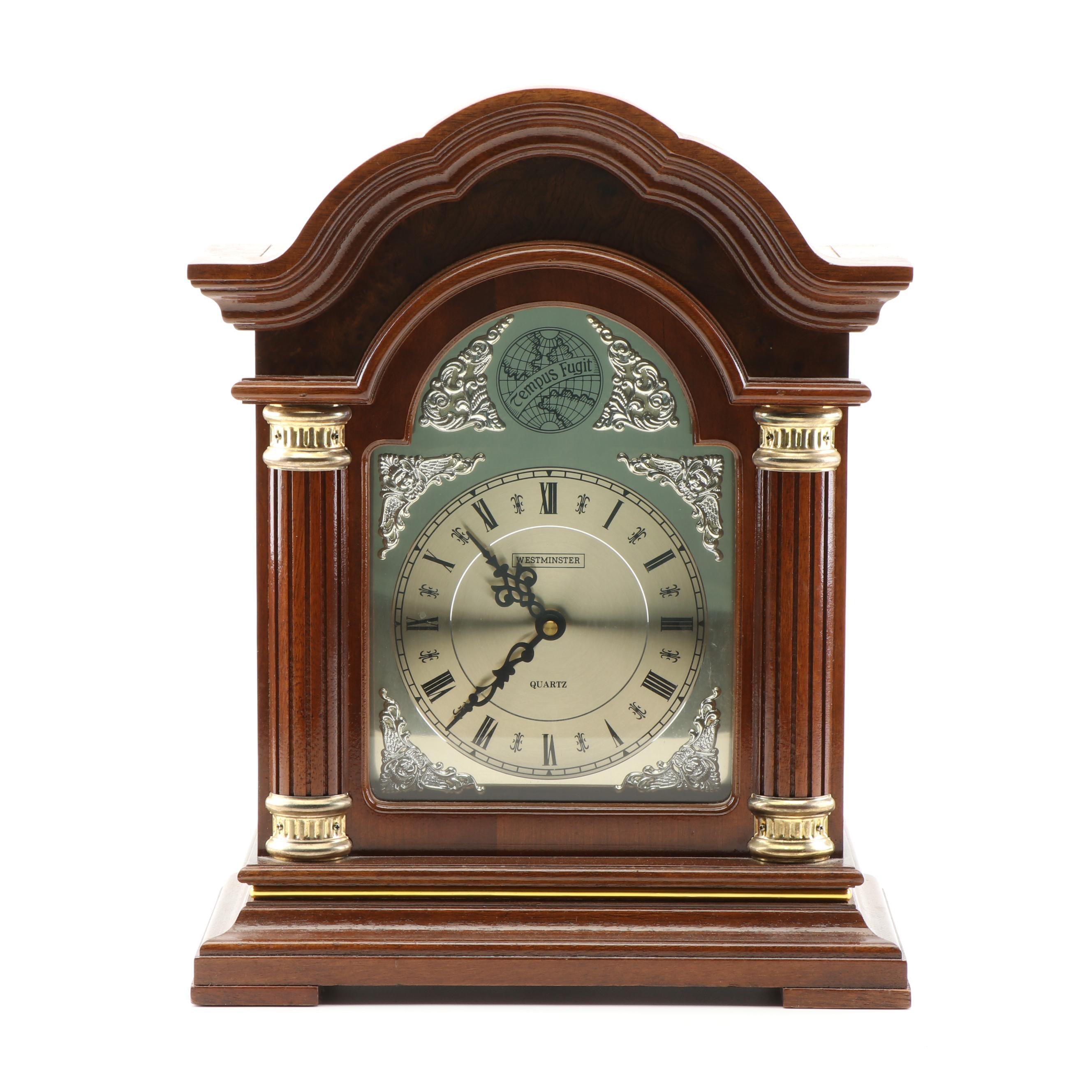 Westminster Quartz Mantle Chime Clock
