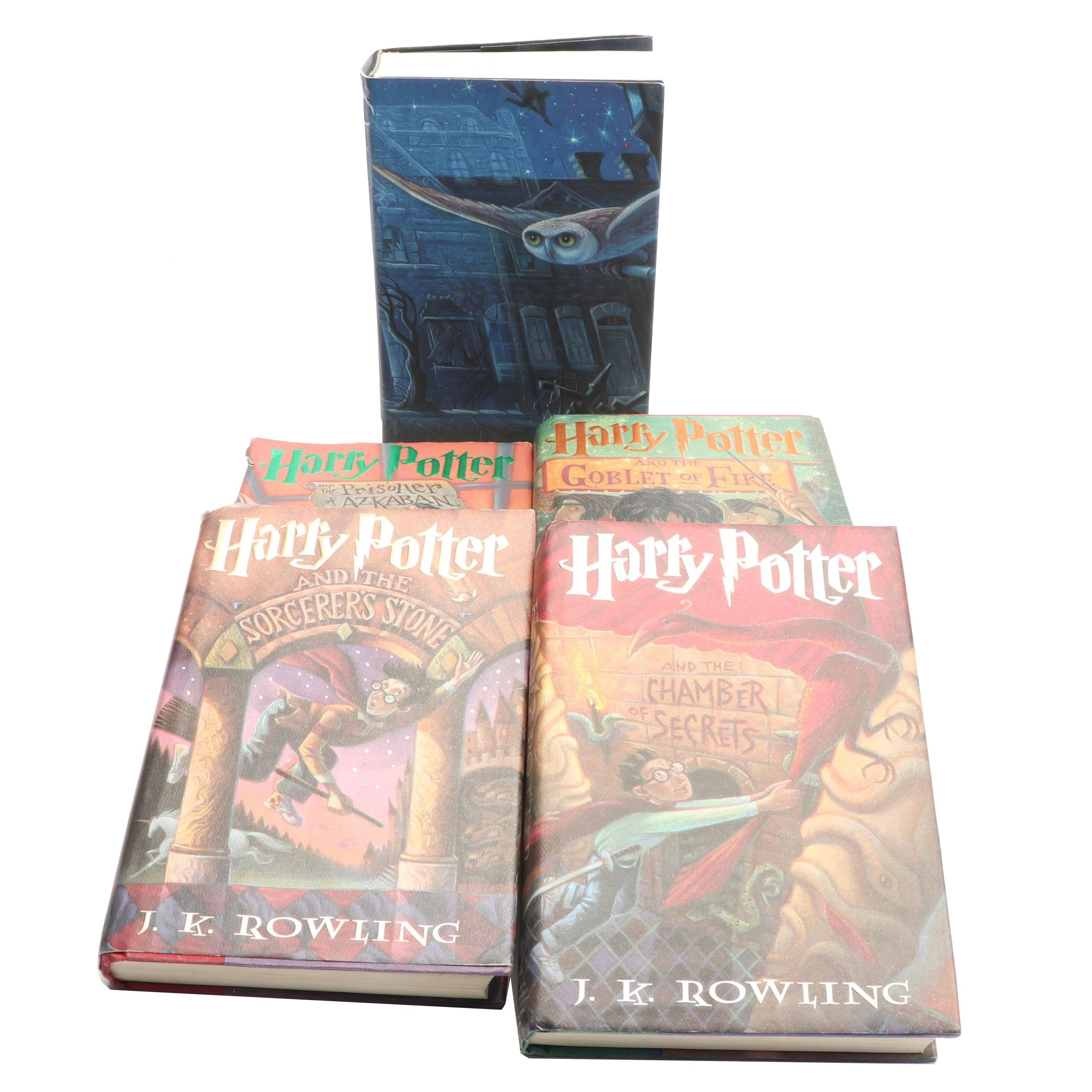 "First American Printing ""Harry Potter"" Books 2-4 and More"