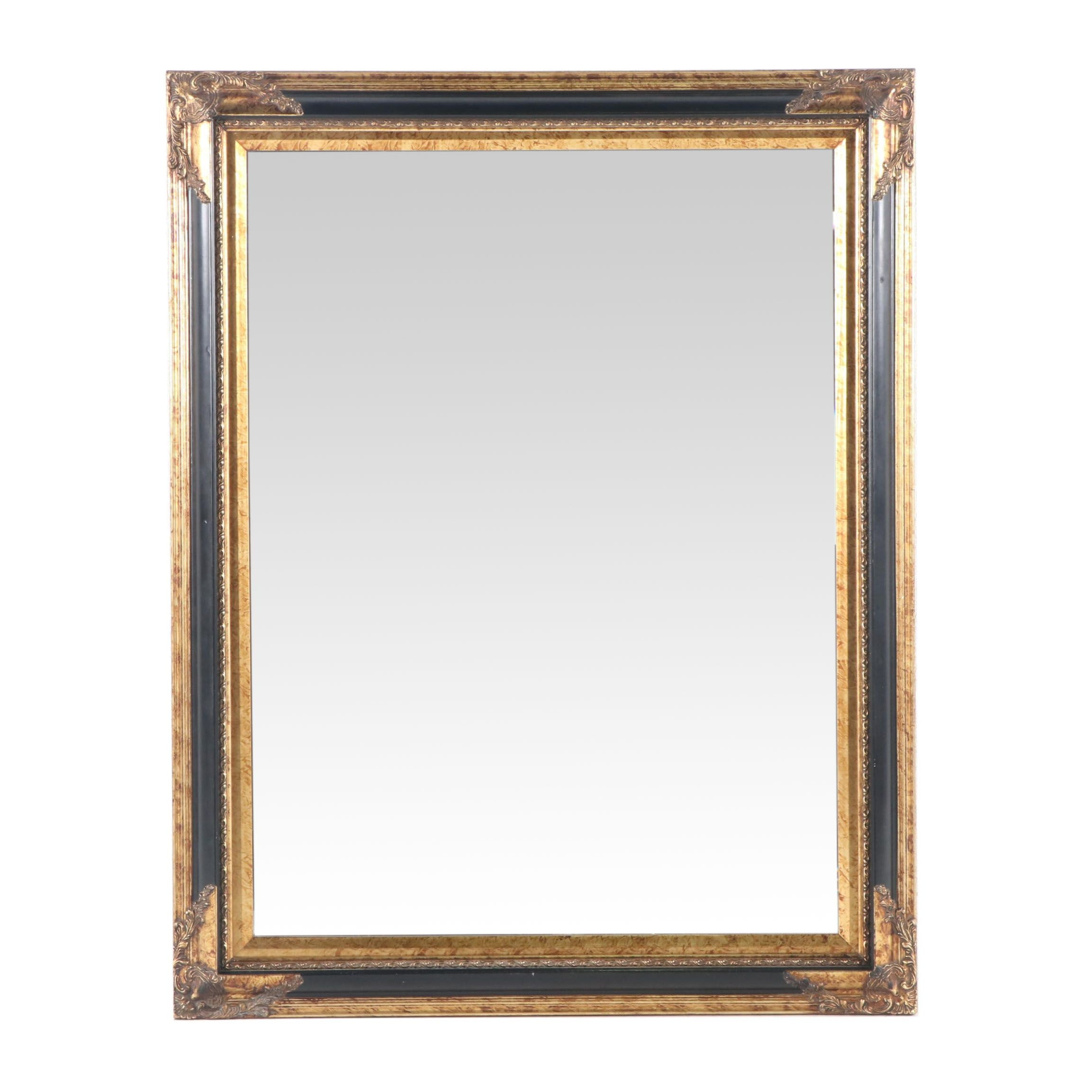 Contemporary Baroque Style Gilt Wall Mirror