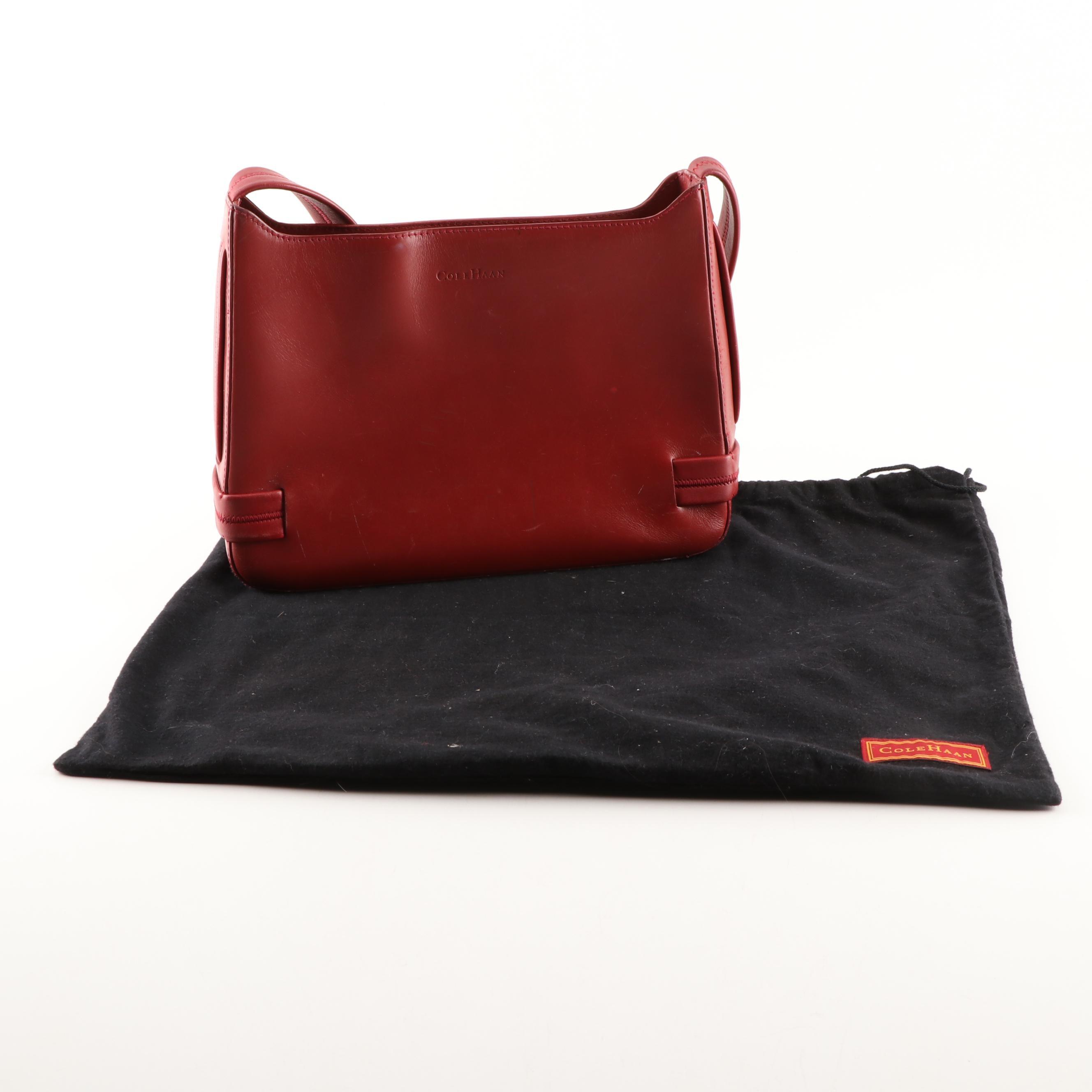 Cole Haan Red Leather Handbag