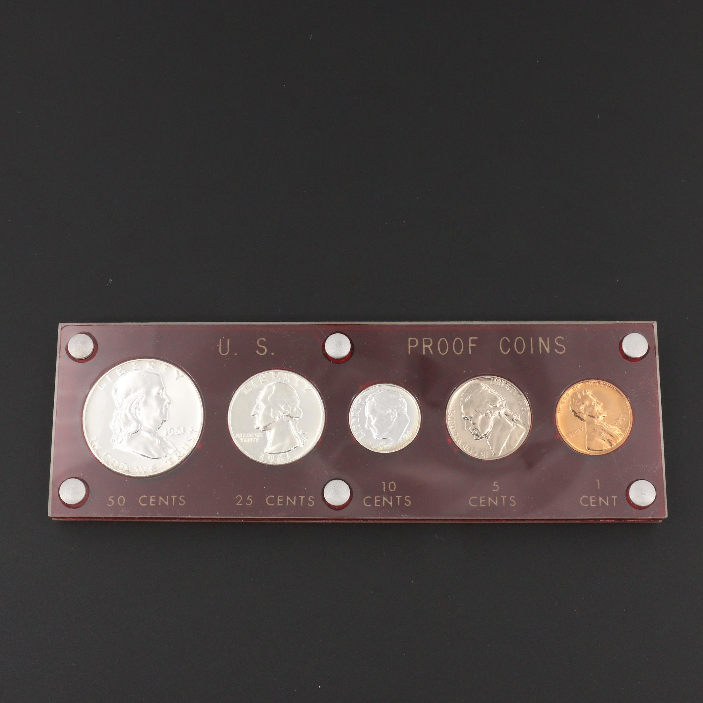 A 1961 U.S. Type Coin Proof Set