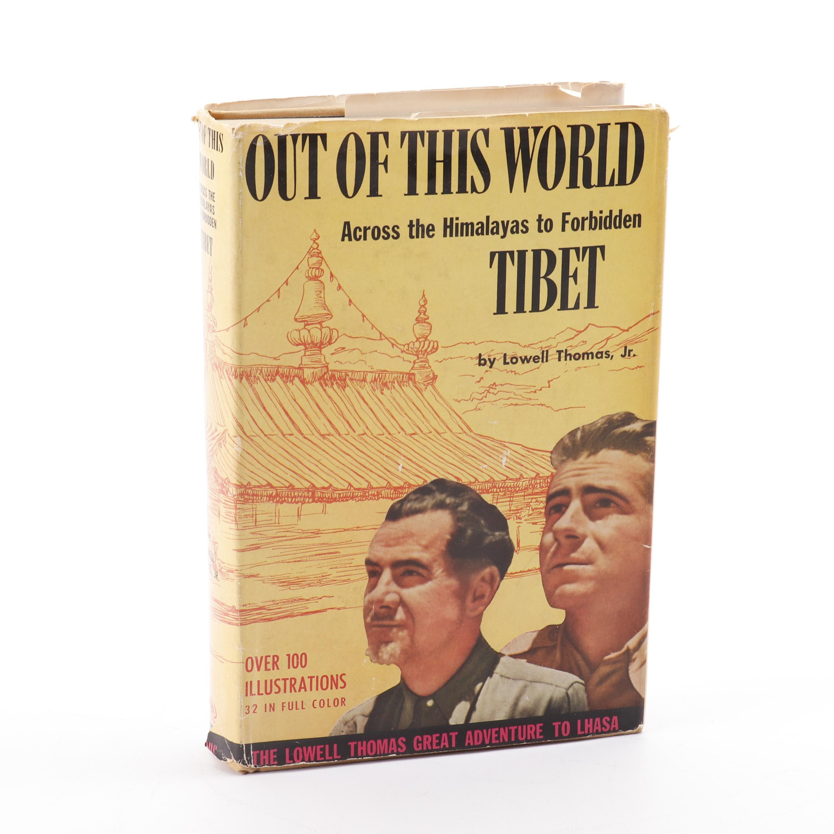 "1950 ""Out of This World"" by Lowell Thomas, Jr., First Trade Edition"