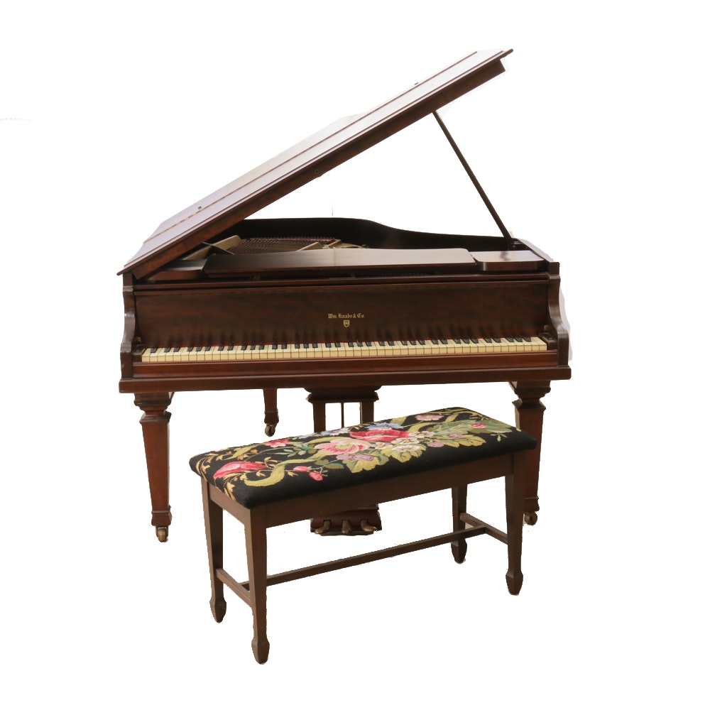 William Knabe & Co Piano, 1915