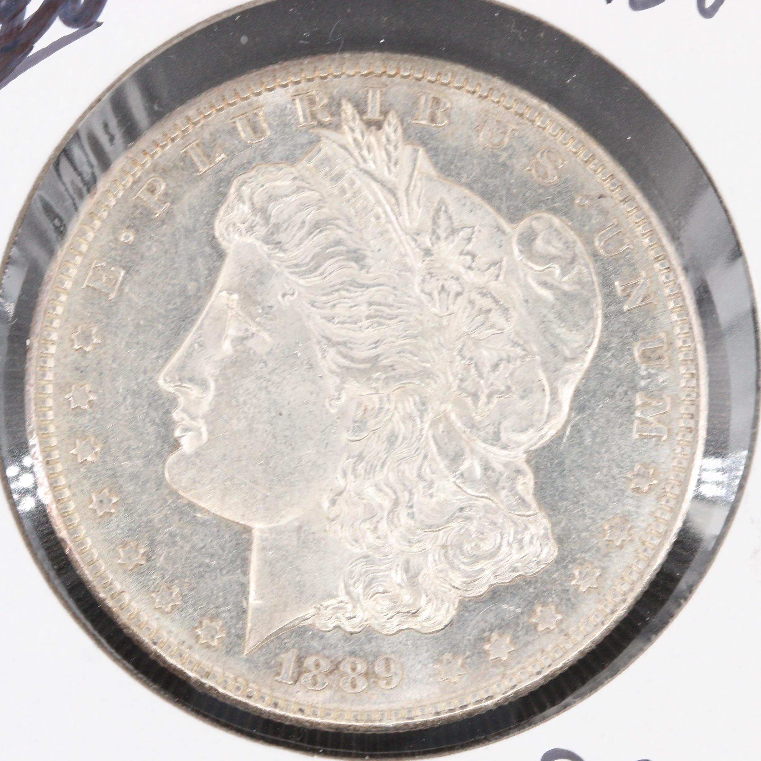 Low Mintage Better Date 1889-S Morgan Silver Dollar