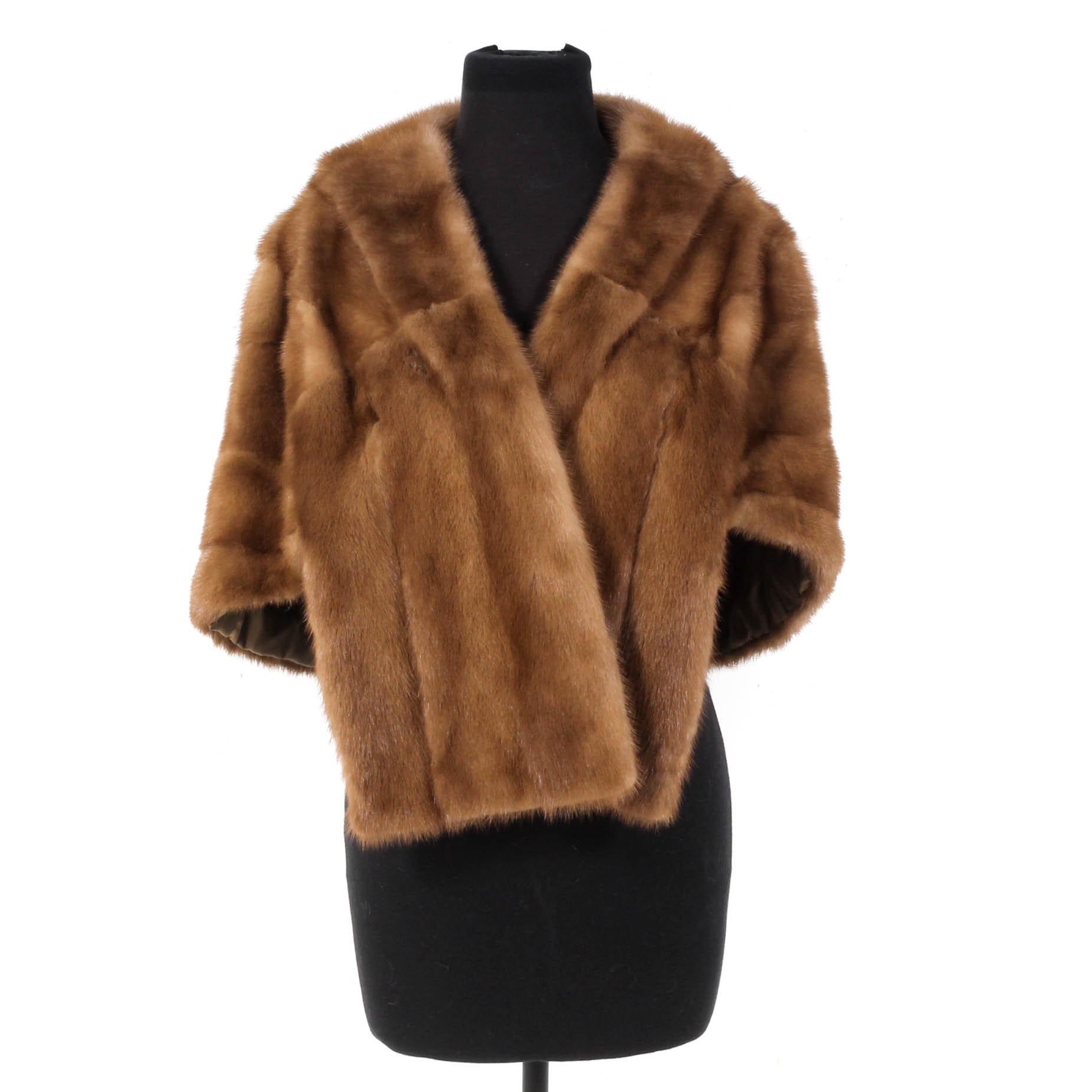 Mink Fur Stole, Vintage