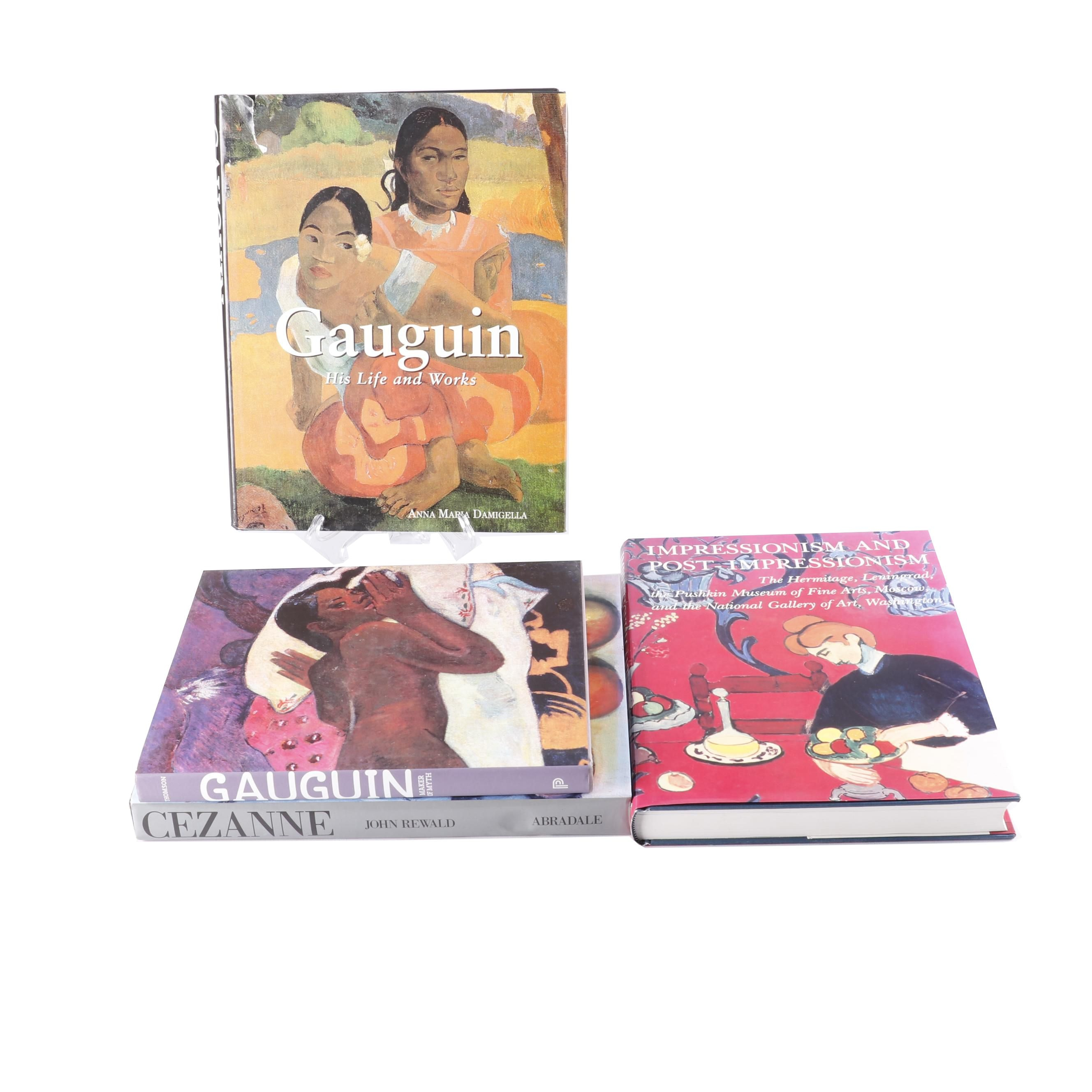 Art Books on Gauguin, Cézanne and Impressionism