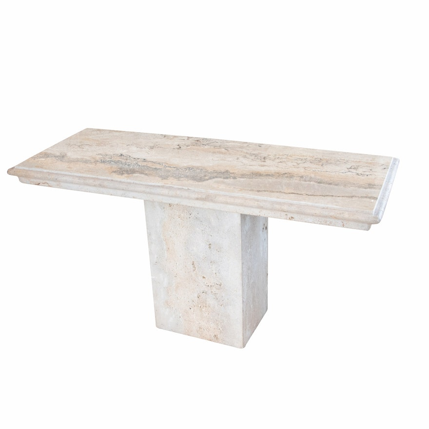 Contemporary Granite Sofa Table