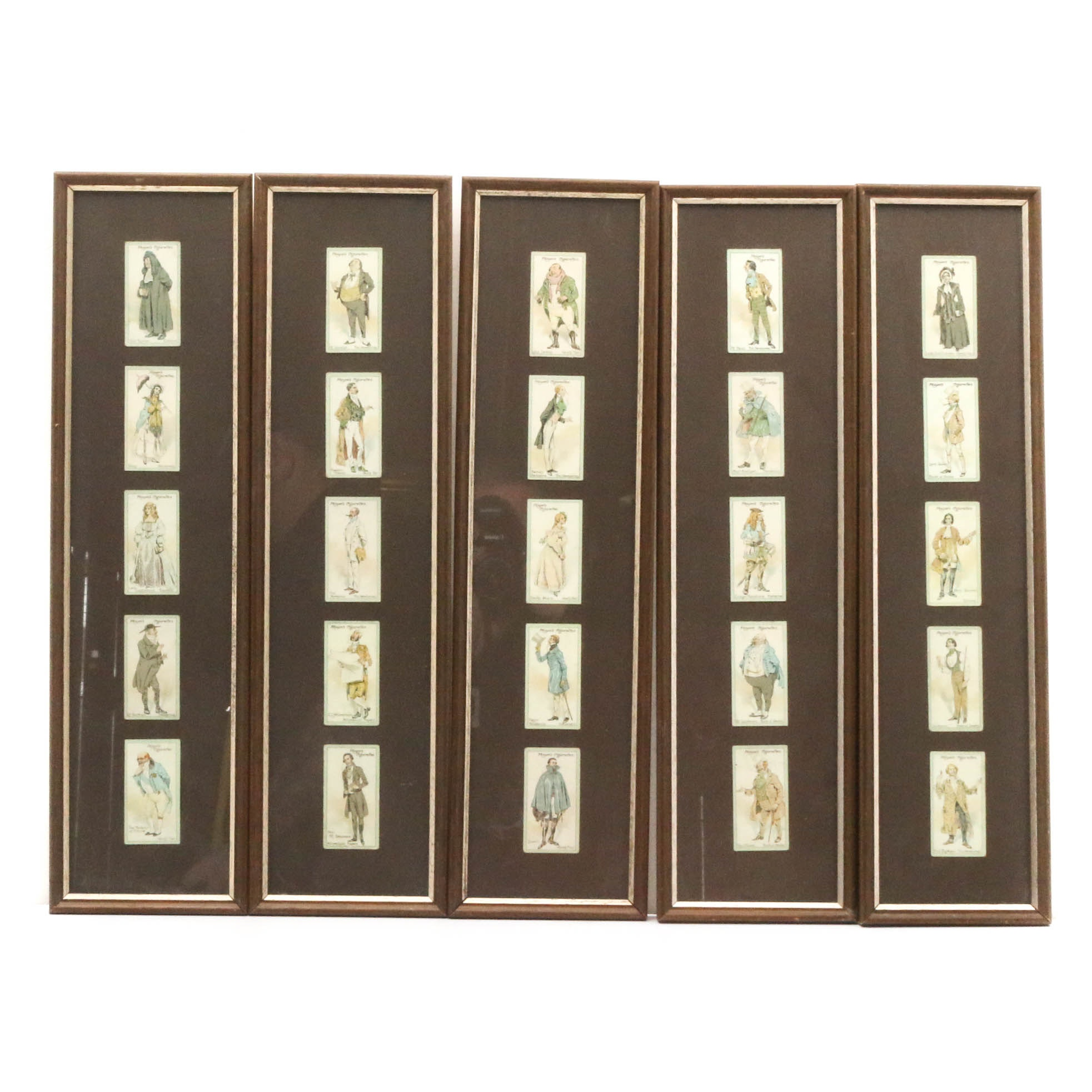 """Late 19th Century Vanity Fair """"Player's Cigarette"""" Cards"""