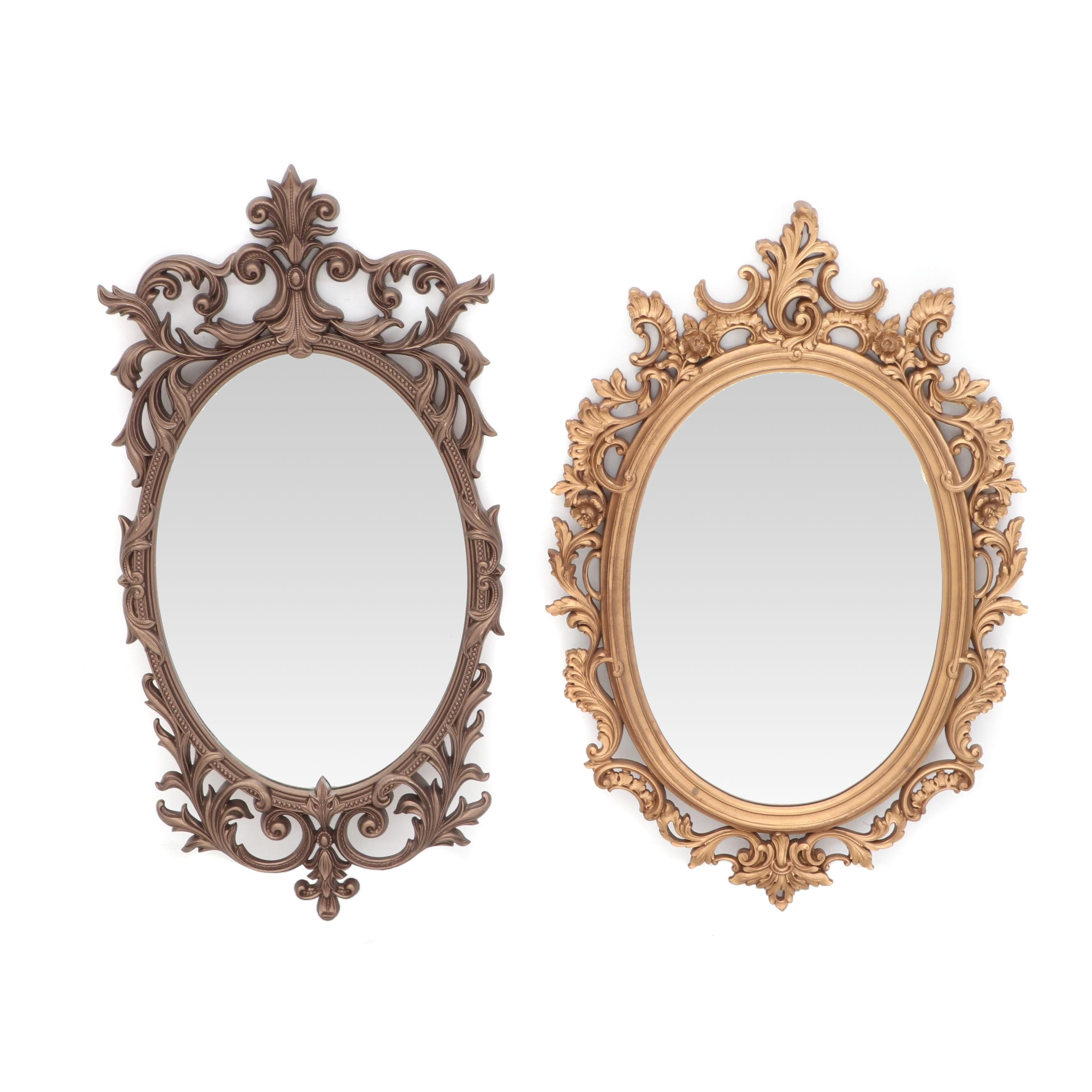 Pairing of Vintage Wall Mirrors