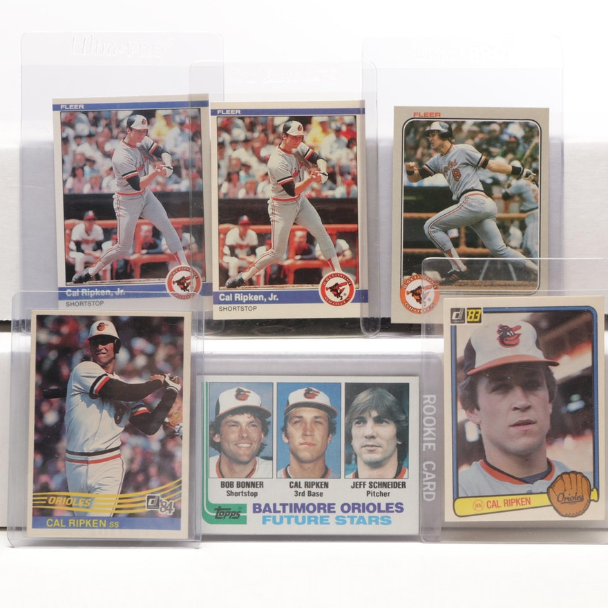 Cal Ripken Jr Baseball Cards Includes Rookie Card