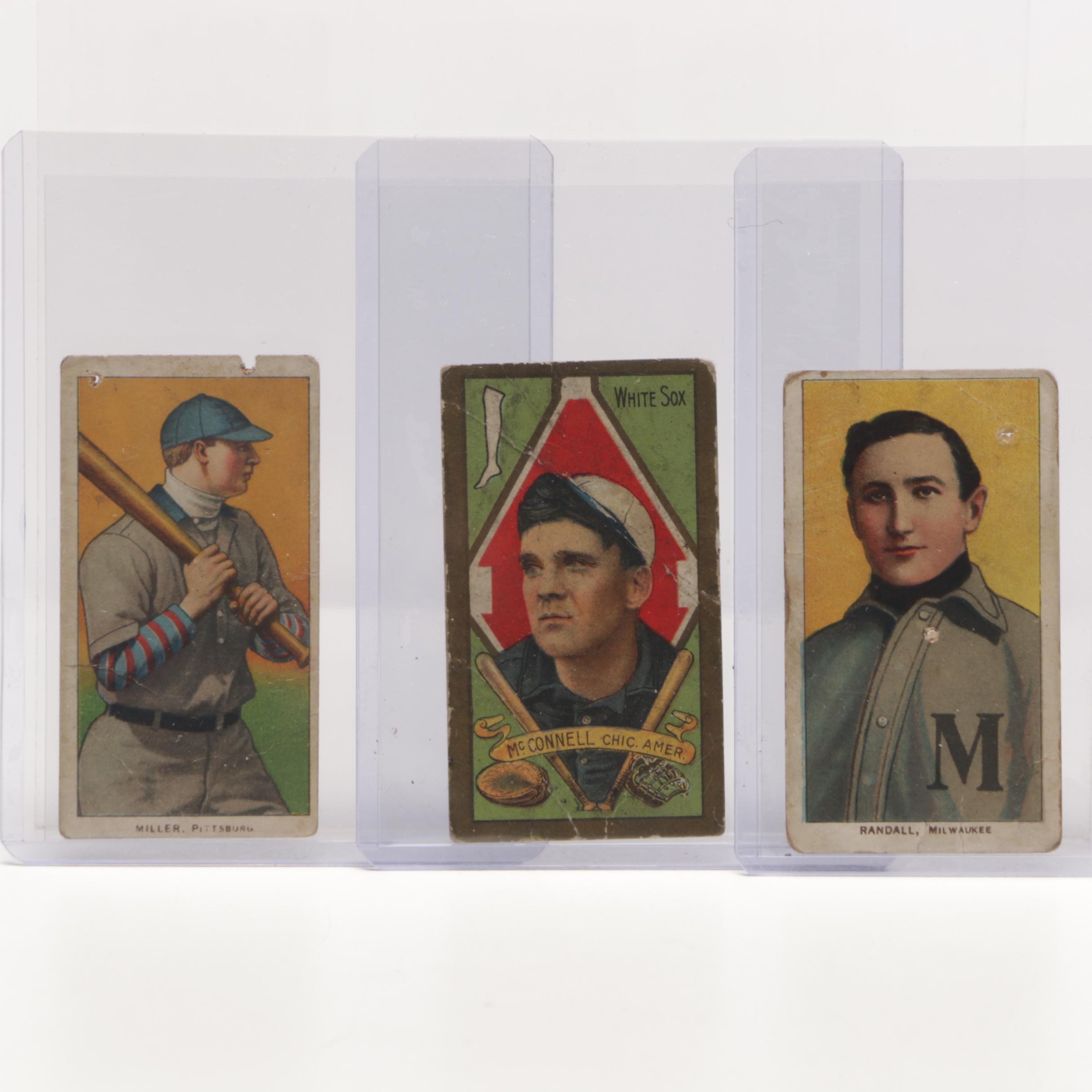 1909-1911 Tobacco Baseball Player Cards