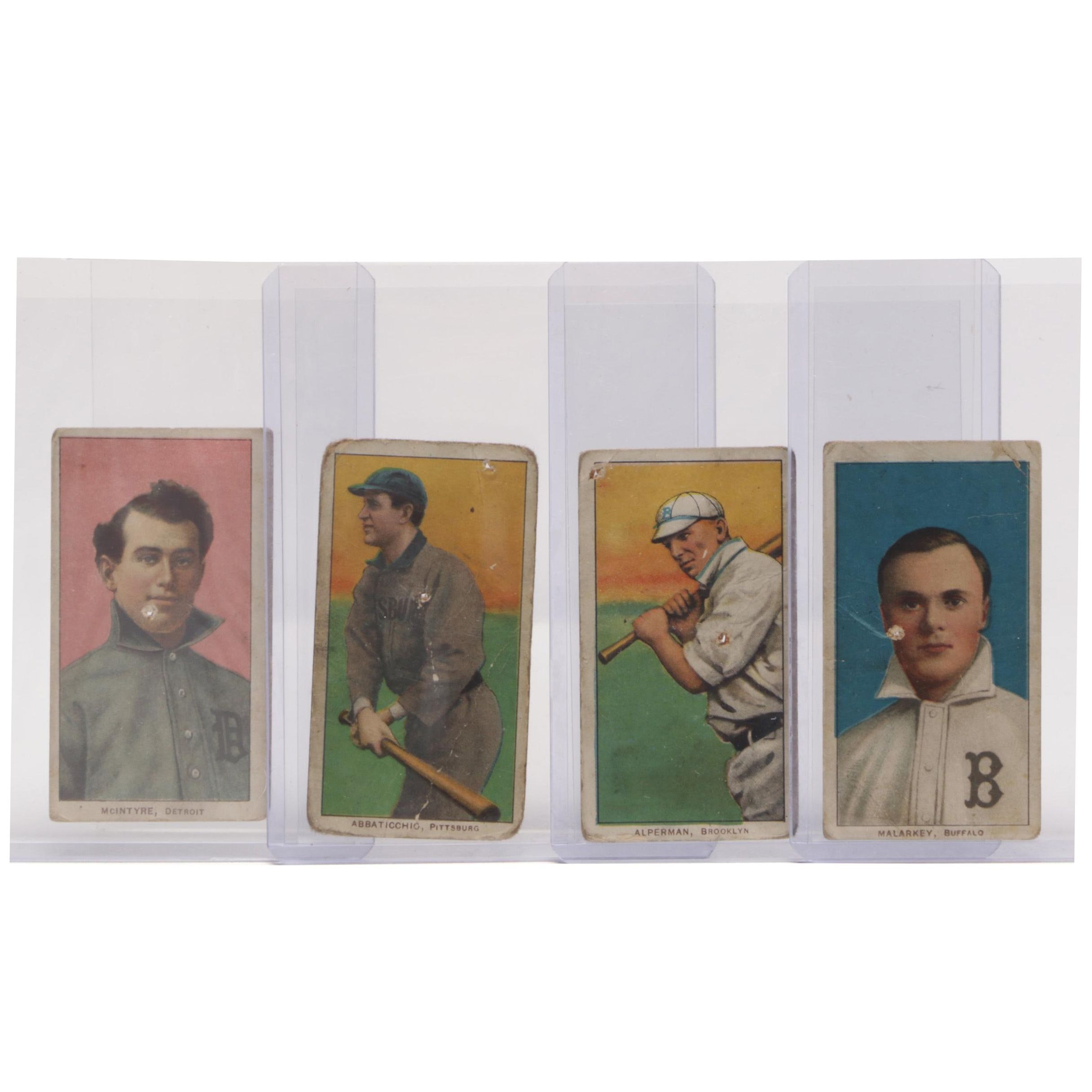 1909-1911 Piedmont Tobacco Player Baseball Cards