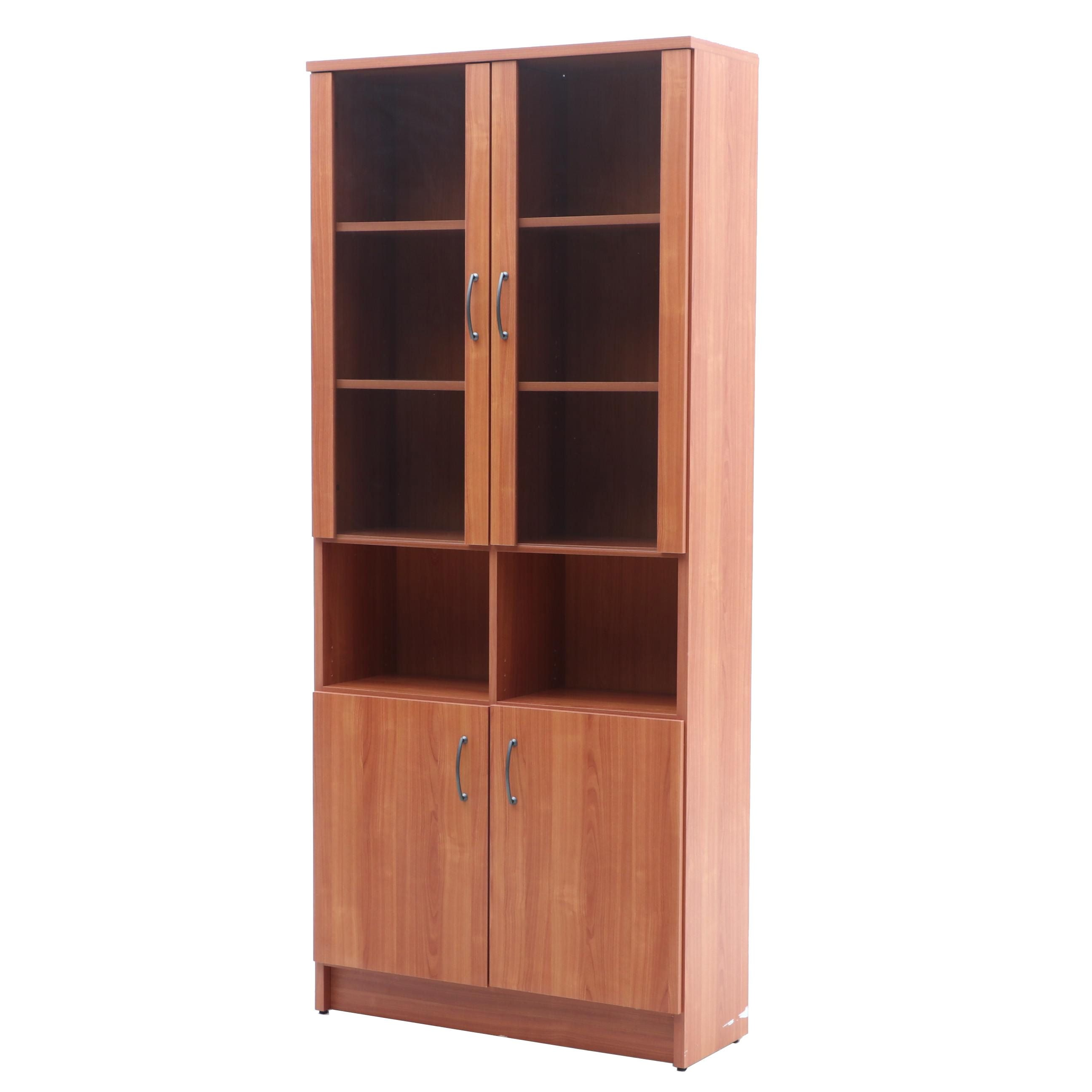 Contemporary Laminate Display Cabinet