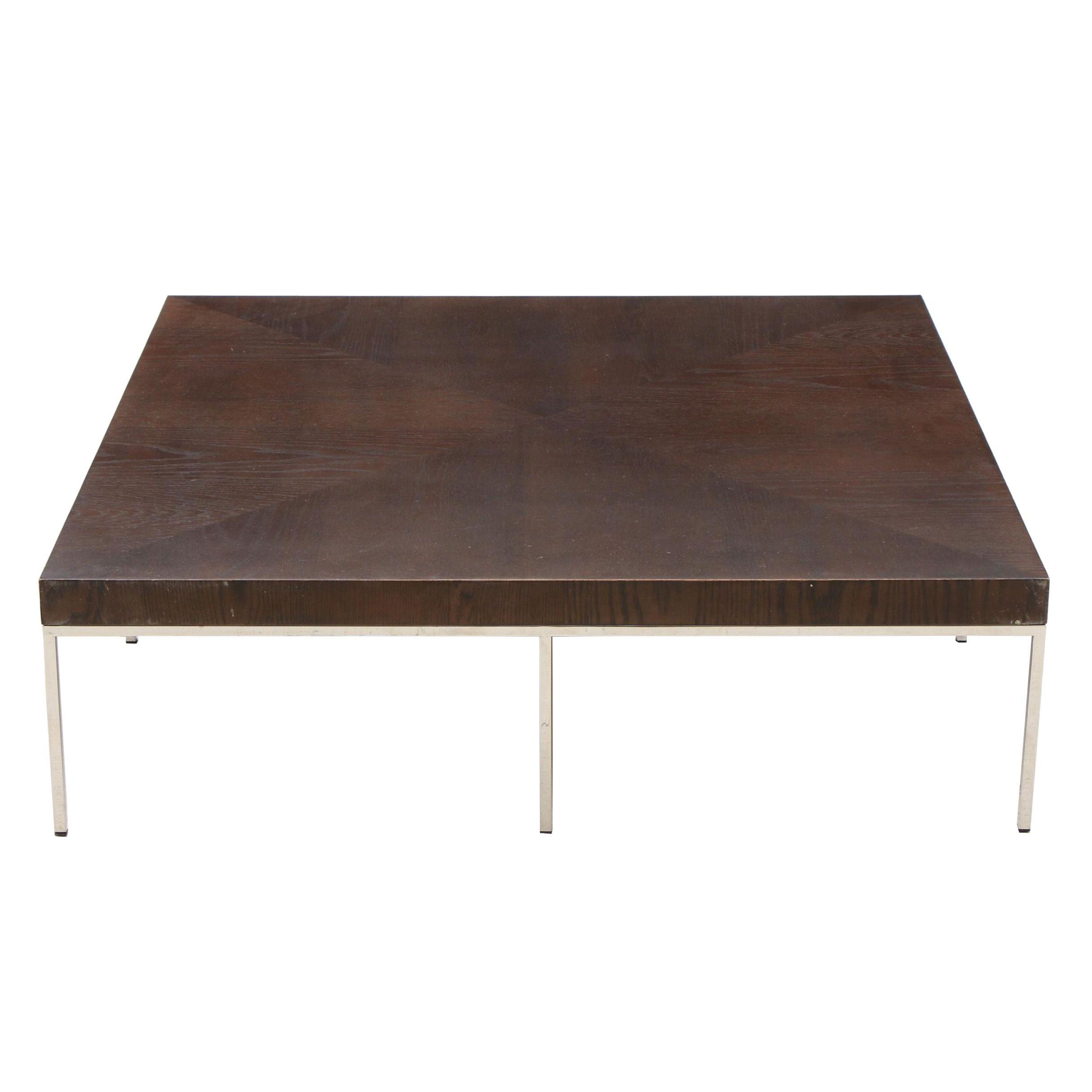Modern Oak Coffee Table, Contemporary