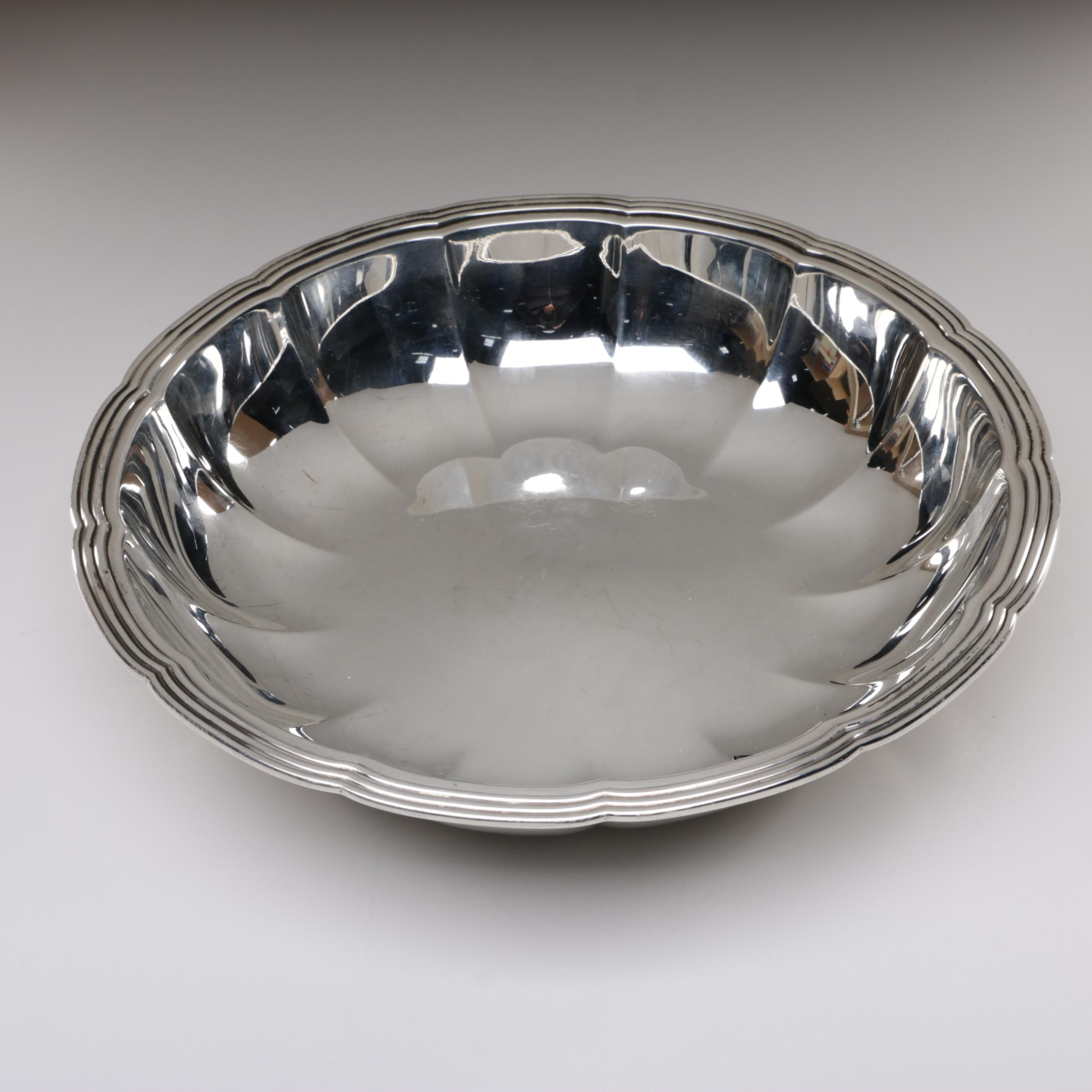Tiffany & Co. Sterling Silver Lobed Bowl, 1940-1947