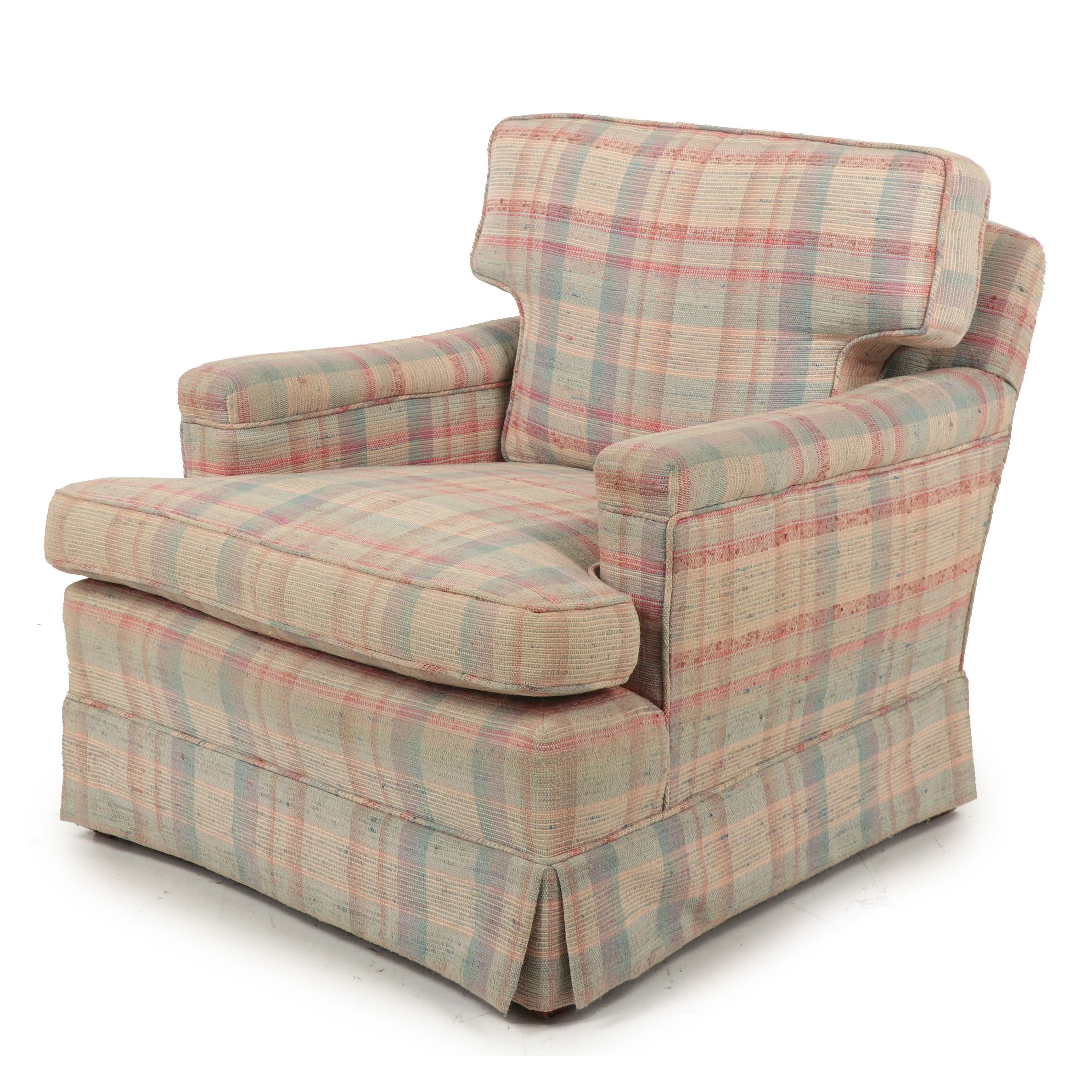 Upholstered Club Chair, Contemporary