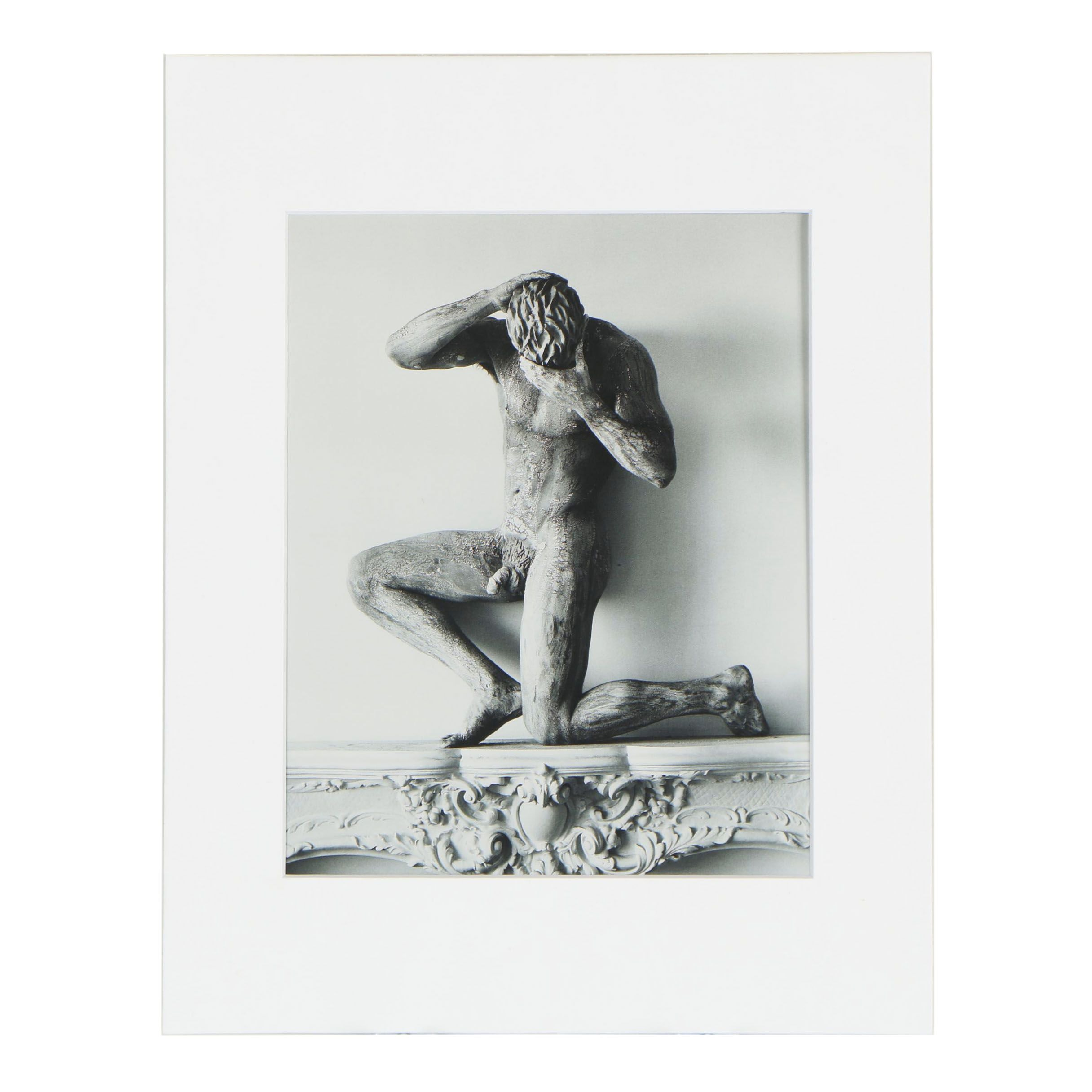 """Publisher Copy Digital Photograph after Herb Ritts """"Statue of Clay ..."""", 1980s"""