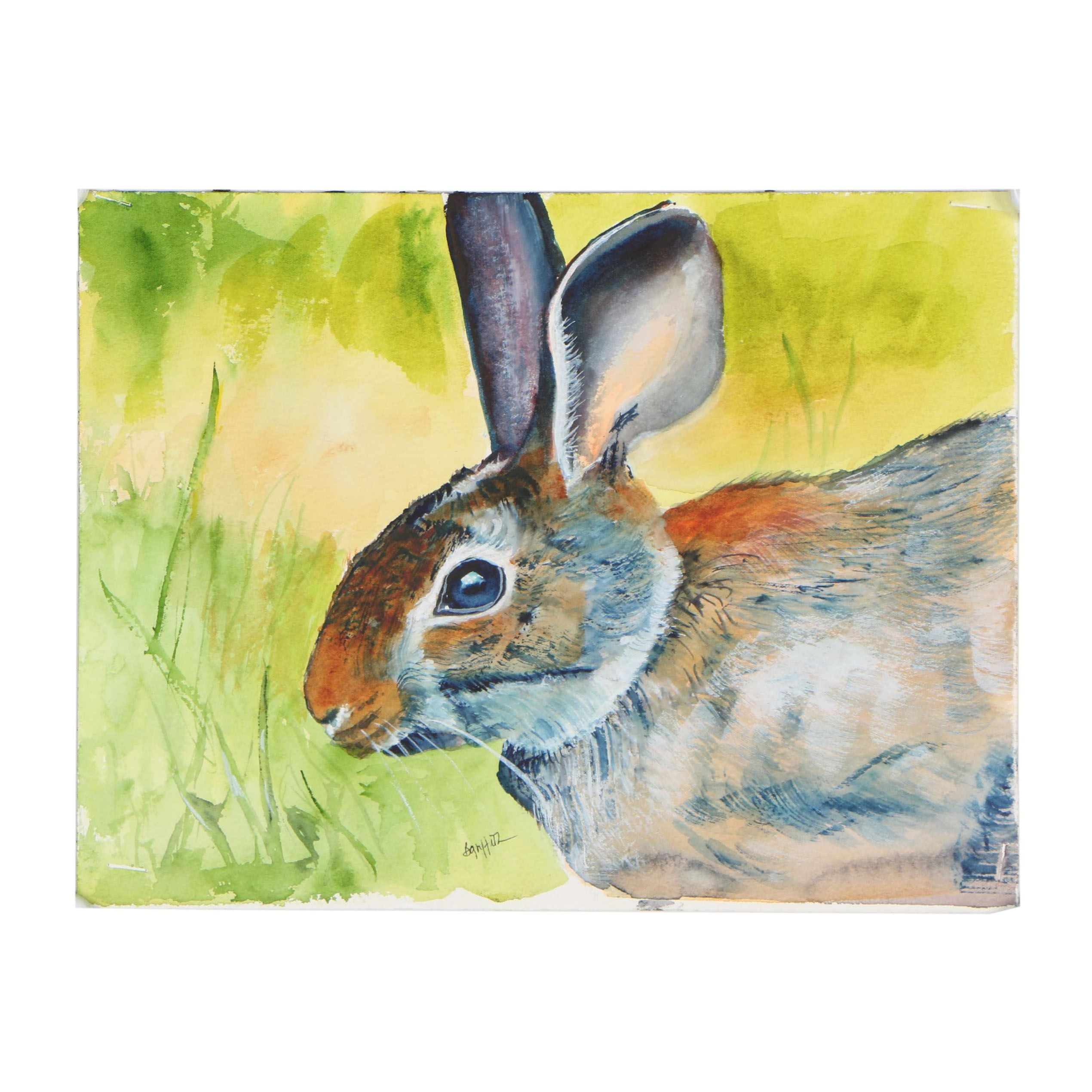 Bunny Griffeth Watercolor Painting