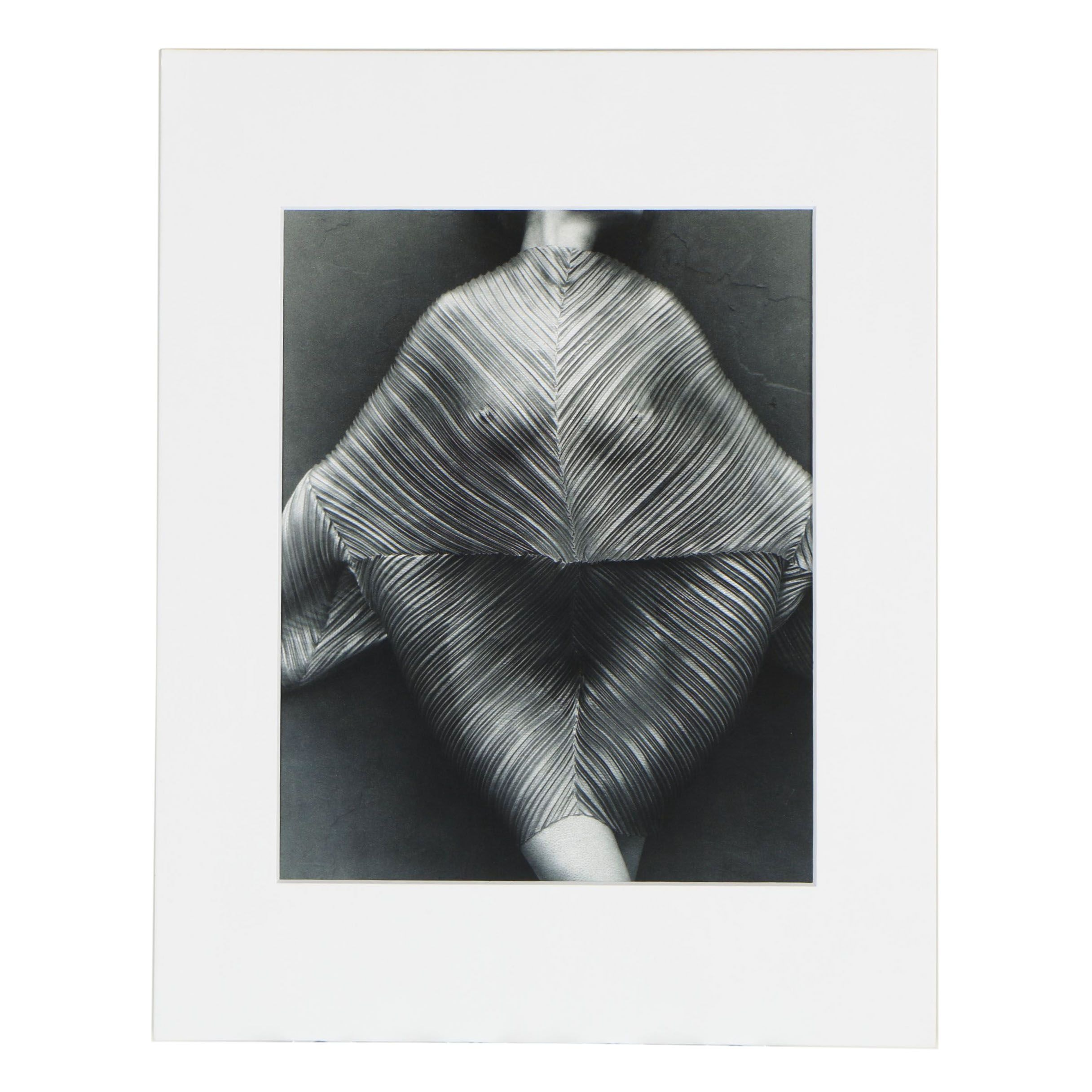 """Publisher Copy Digital Photograph after Herb Ritts """"Ruffled Fan Palm"""", 1989"""