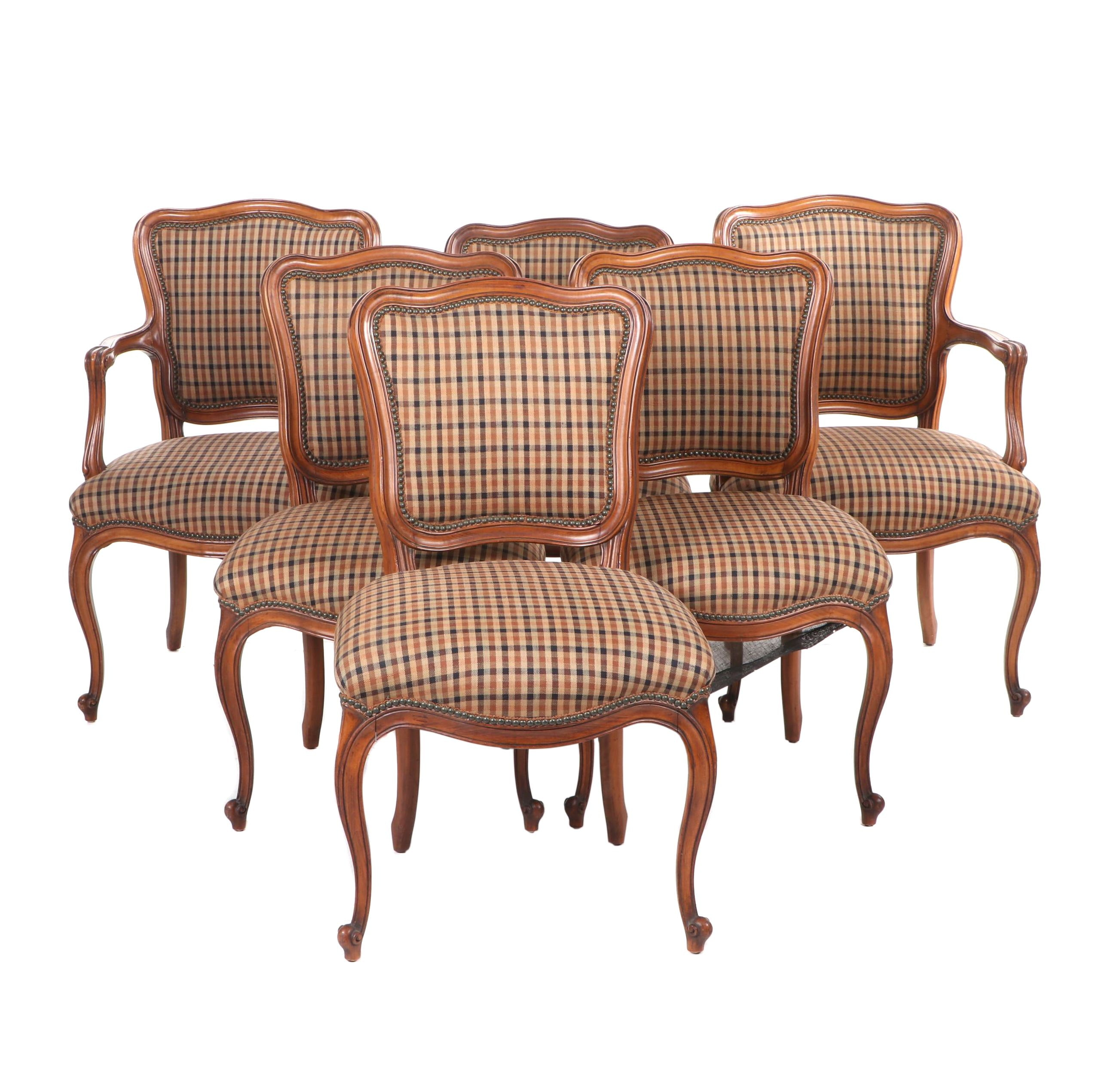 French Provincial Style Dining Chairs, Contemporary