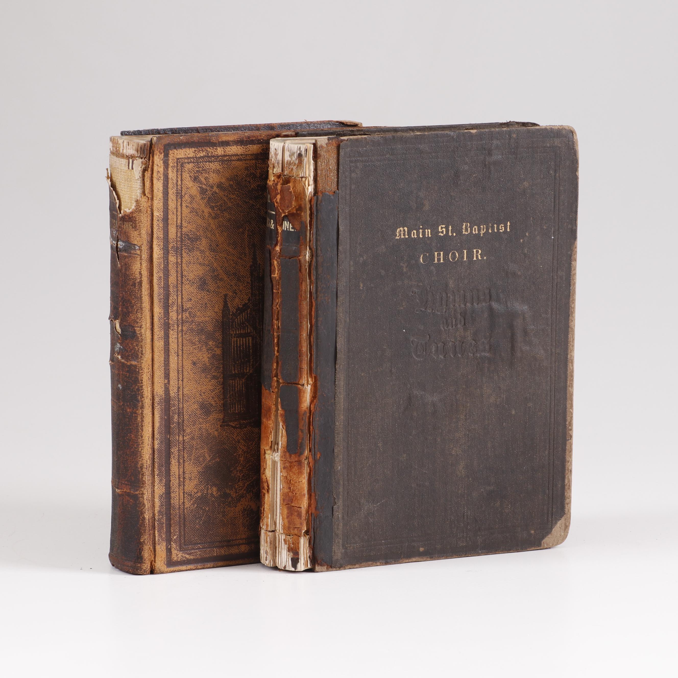 Baptist Hymn Books, Mid 19th Century