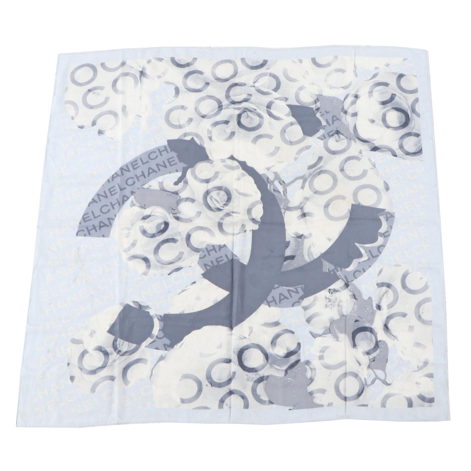 Women's Chanel Silk Scarf