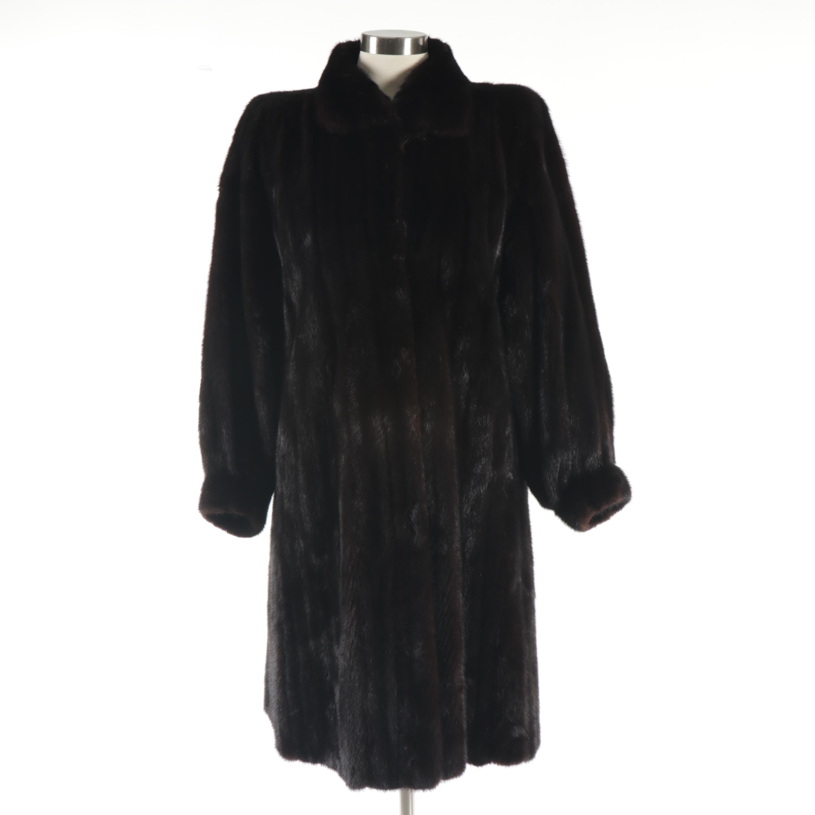 Women's Mink Fur Coat from Alexandor Furs