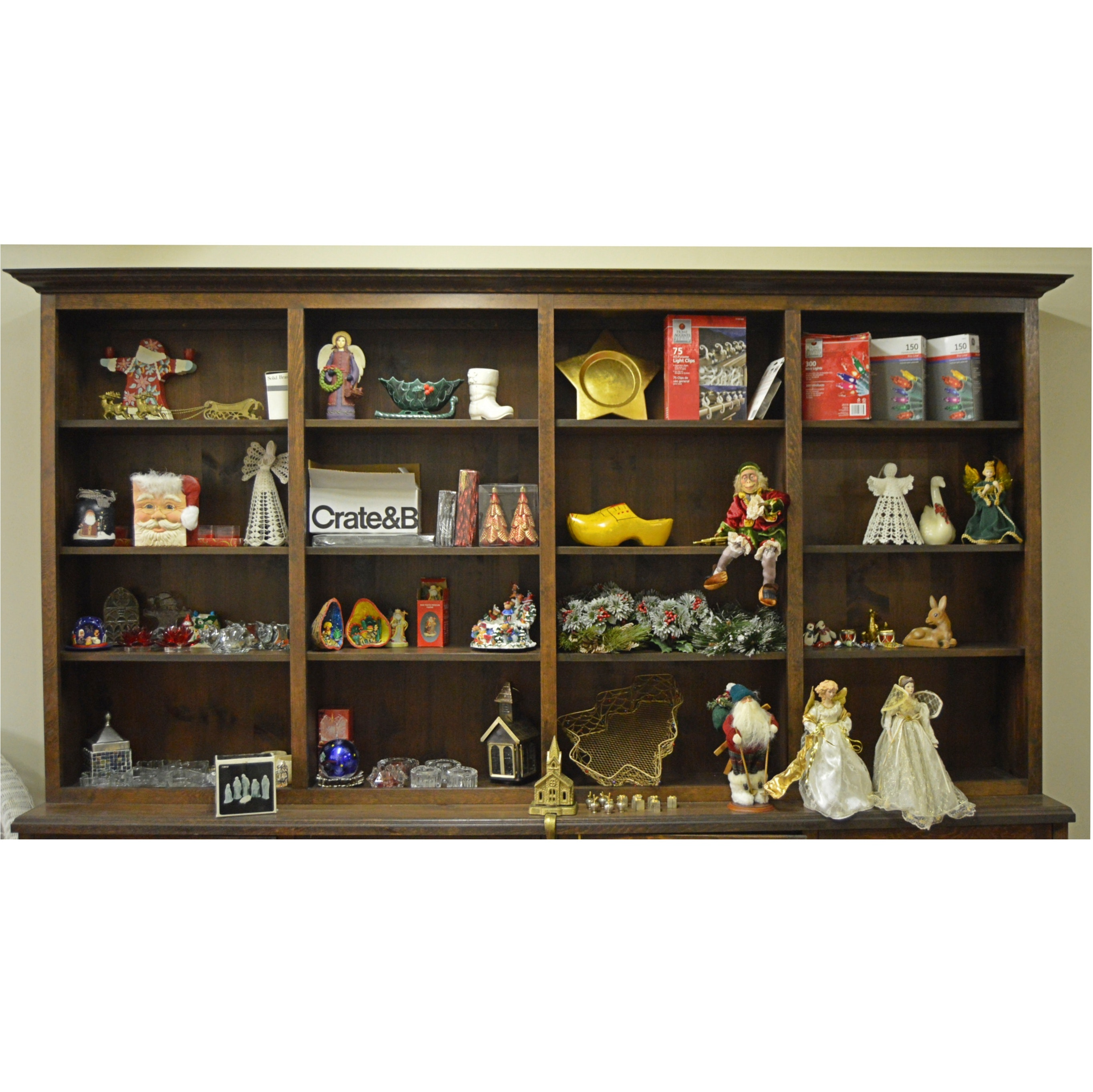 Collection of Christmas Decor and Collectibles