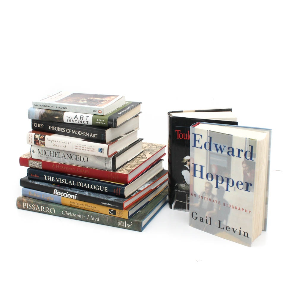 Art Books with Biccioni, Pissarro and Toulouse-Lautrec
