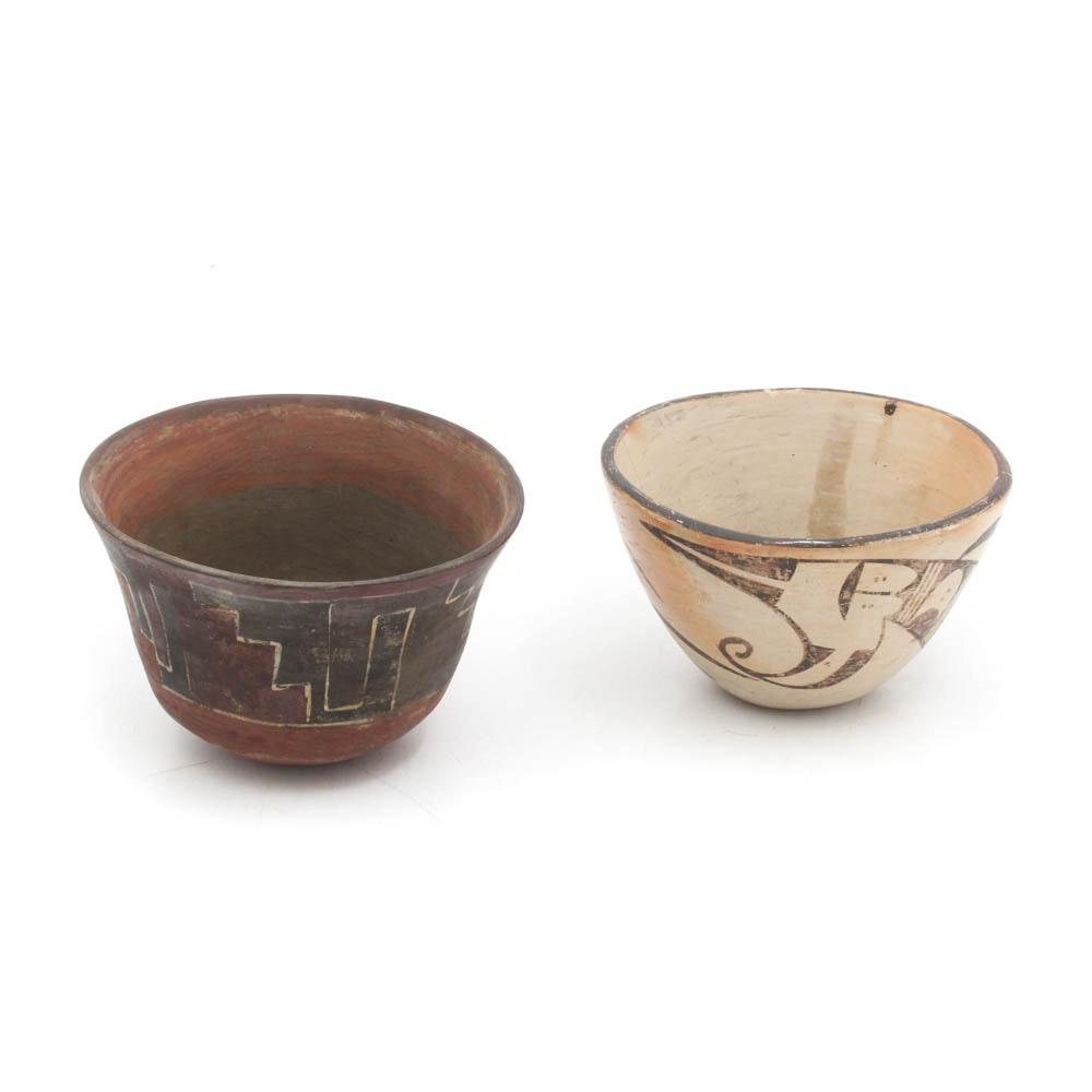 Native American Ceramic Bowls