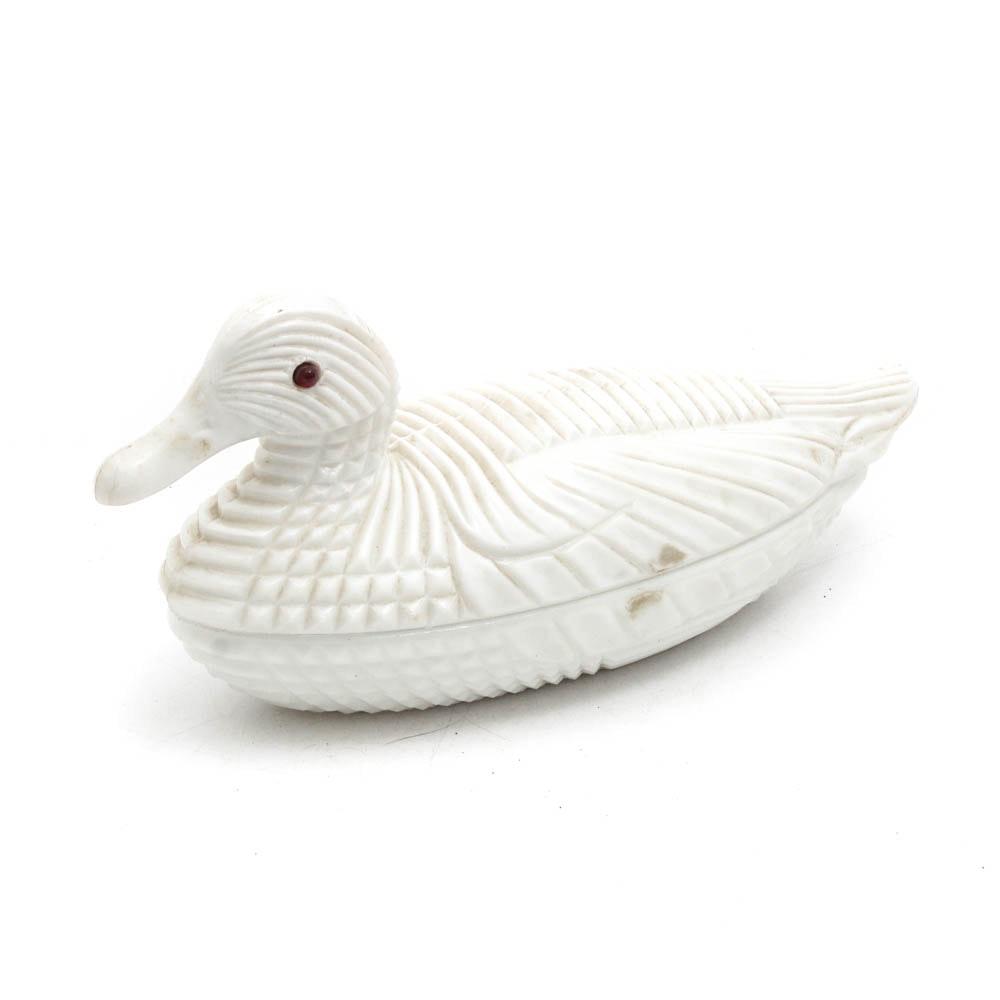 Atterbury 1887 Milk Glass Duck