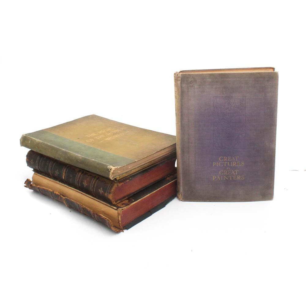 Antique Art Books