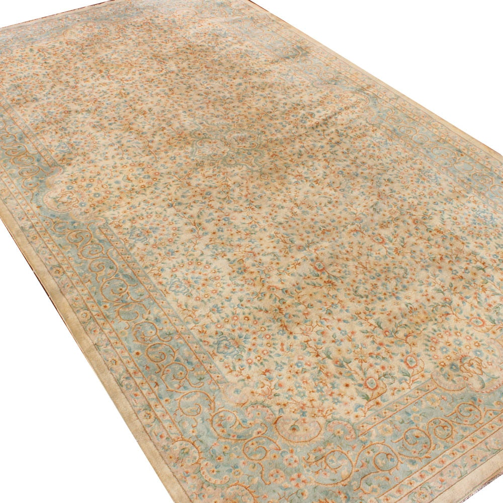Hand-Knotted Sino-Persian Tabriz Palace Size Rug