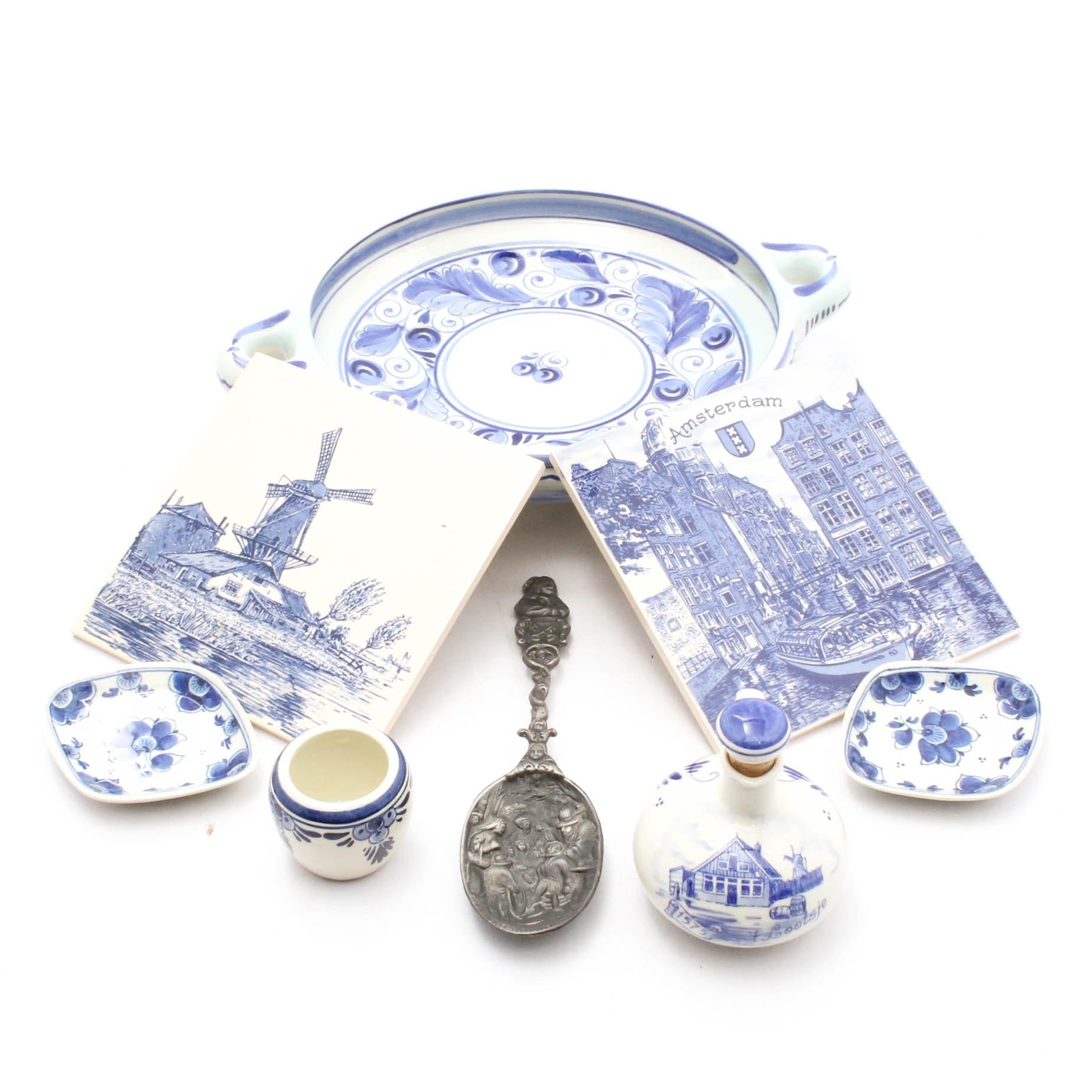 Delft and More Dutch Ceramics and Souvenirs