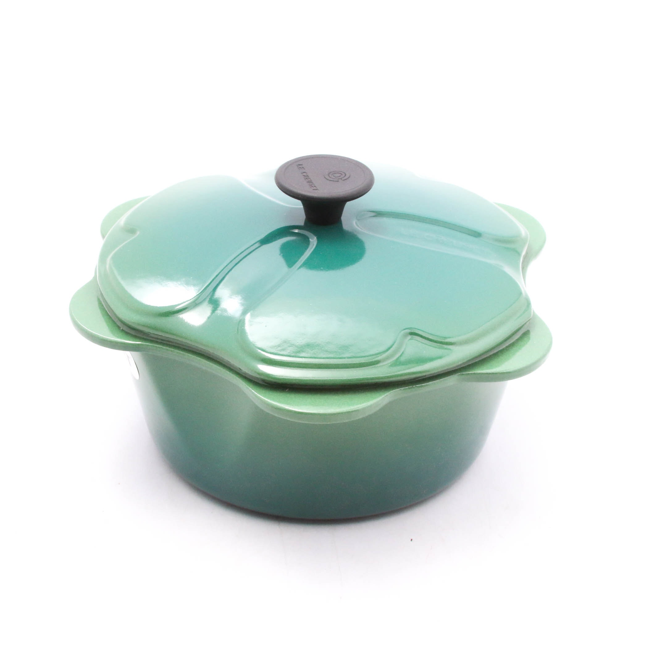 Le Creuset Enameled Cast Iron Shamrock Dutch Oven, Made in France