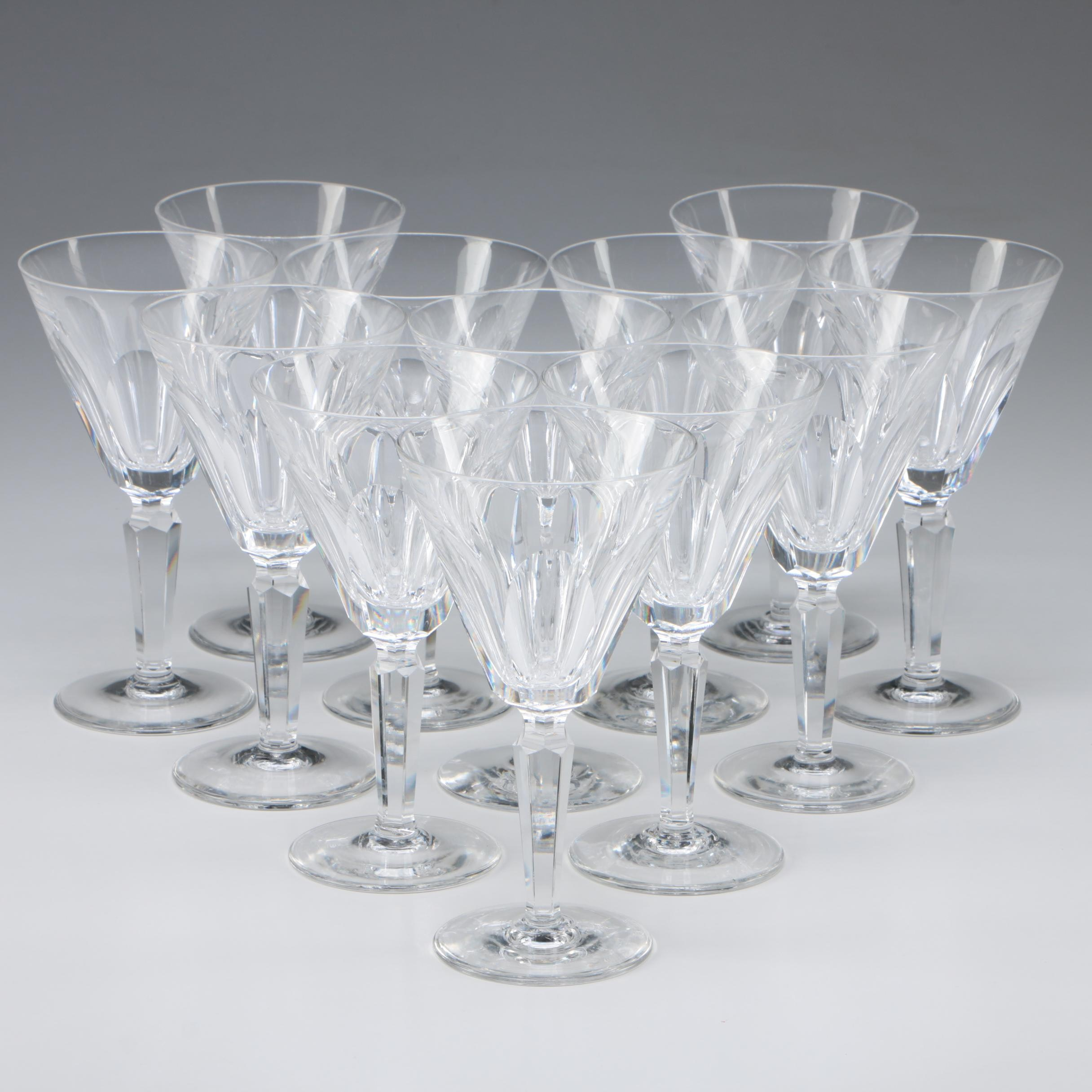 "Waterford Crystal ""Sheila"" Water Goblets"