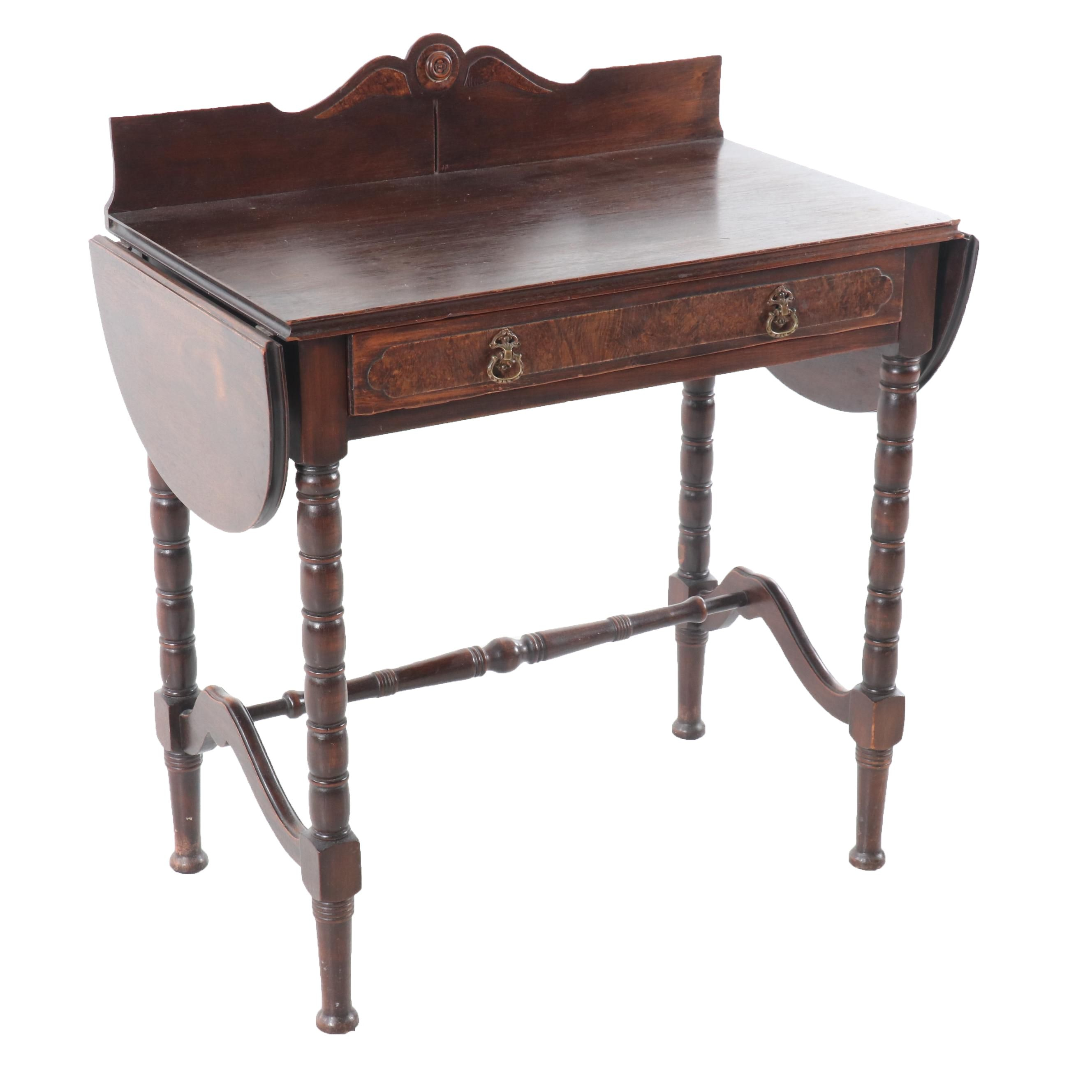 Vintage Victorian Style Mahogany Writing Desk
