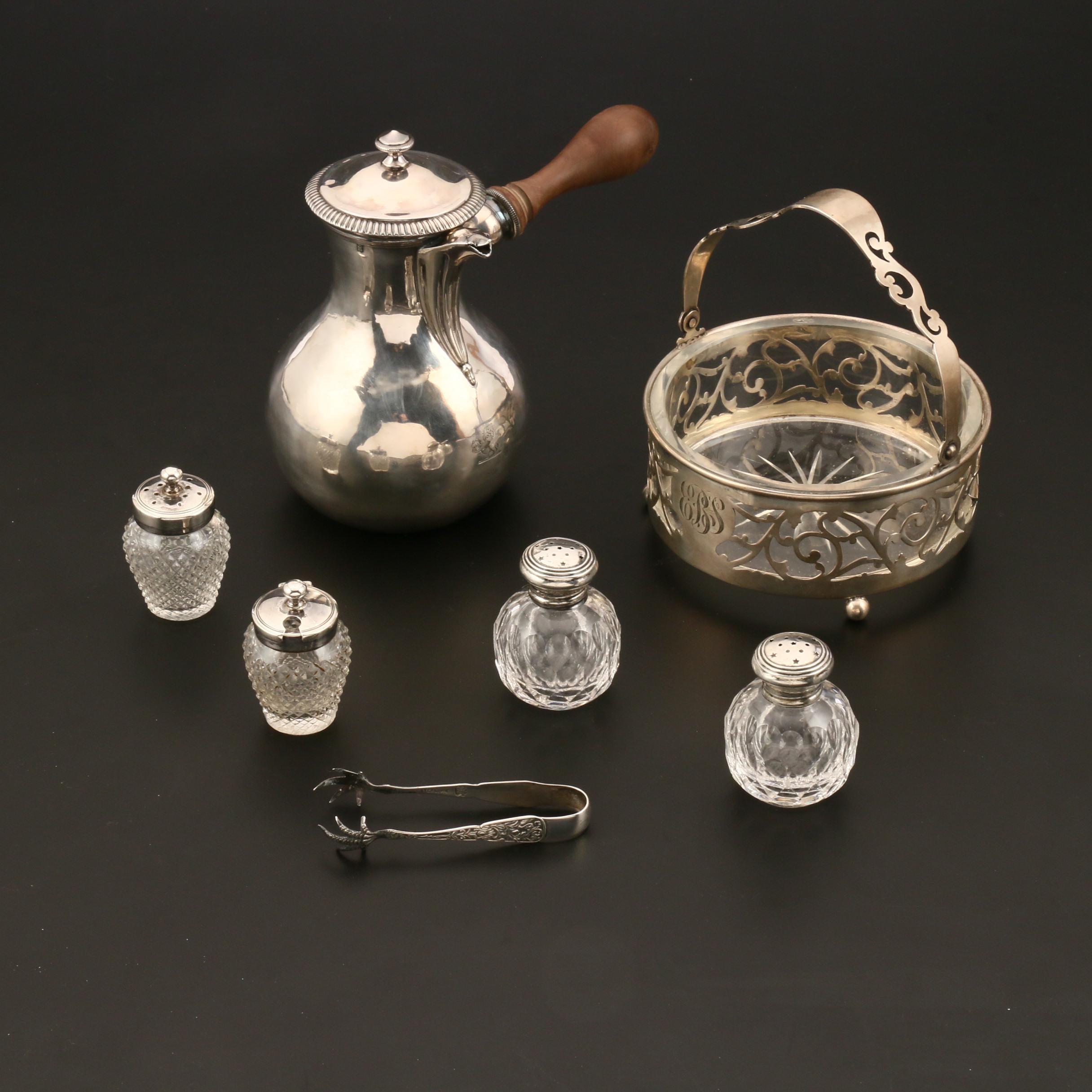 Selected Sterling Silver Tableware