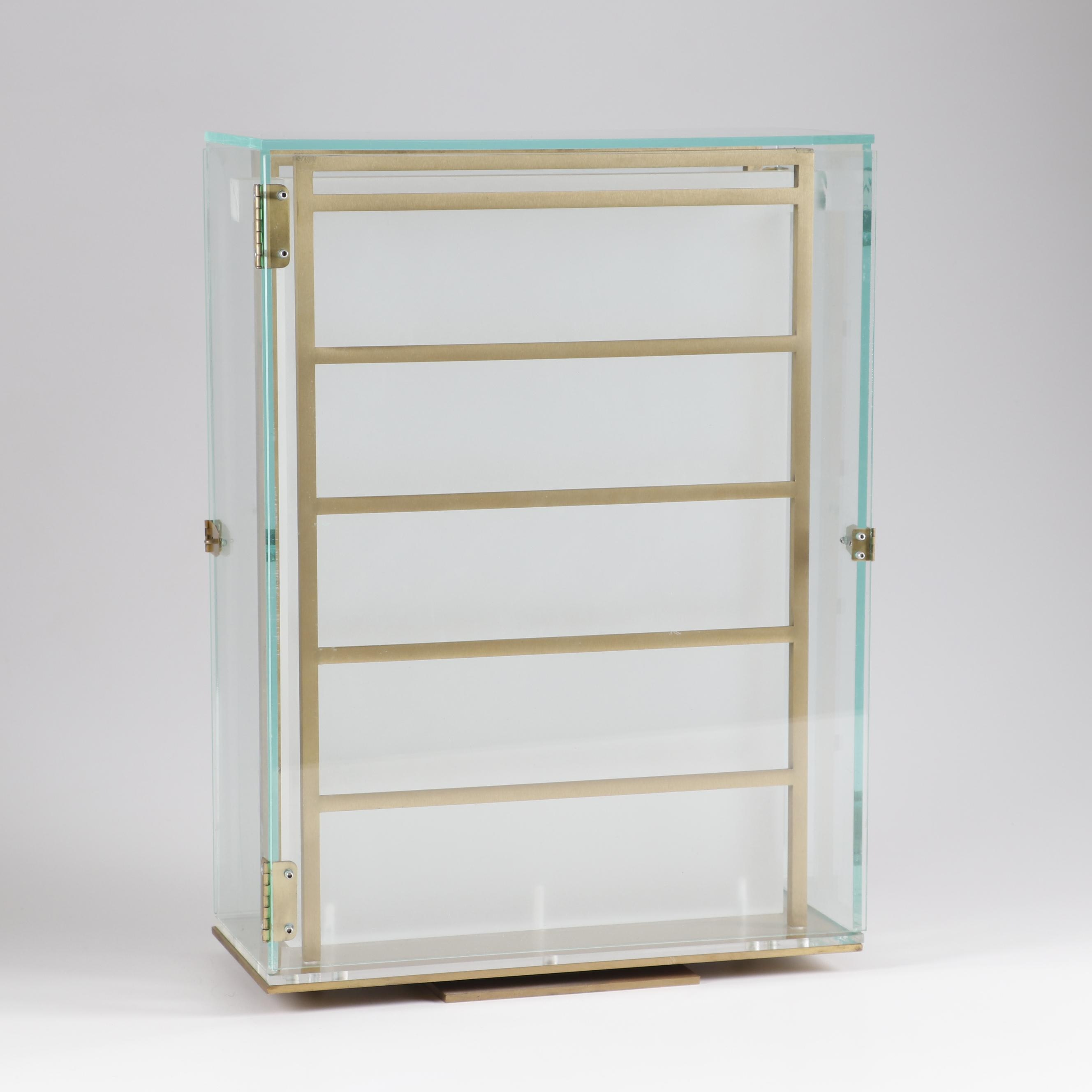 Contemporary Double-sided Custom Jewelry Display Case