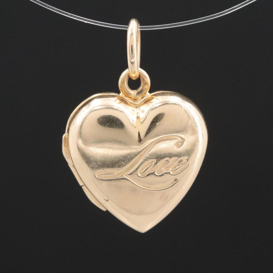 aee516001 Vintage Tiffany & Co.14K Yellow Gold