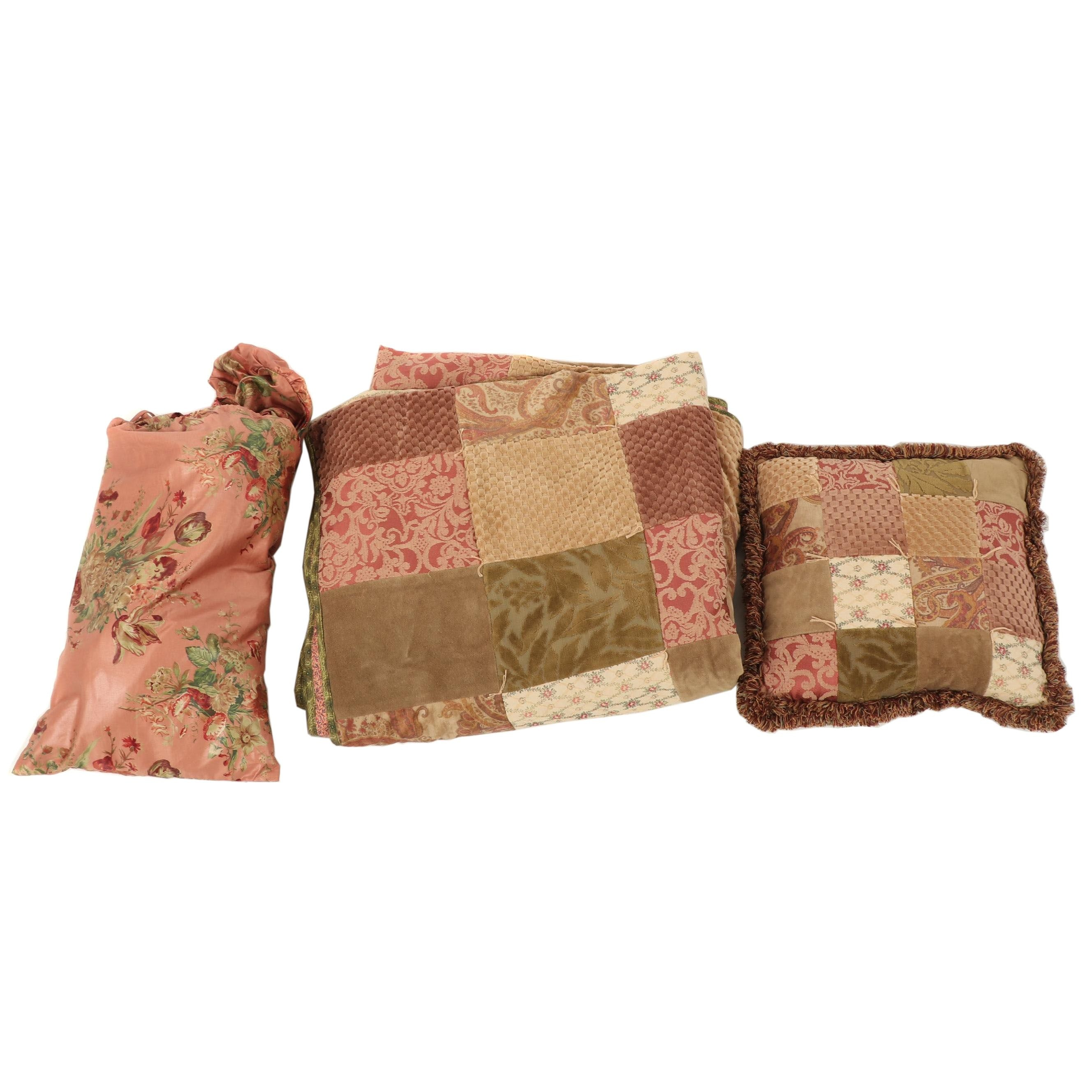 Double D Ranch Patchwork and Chintz Bedding